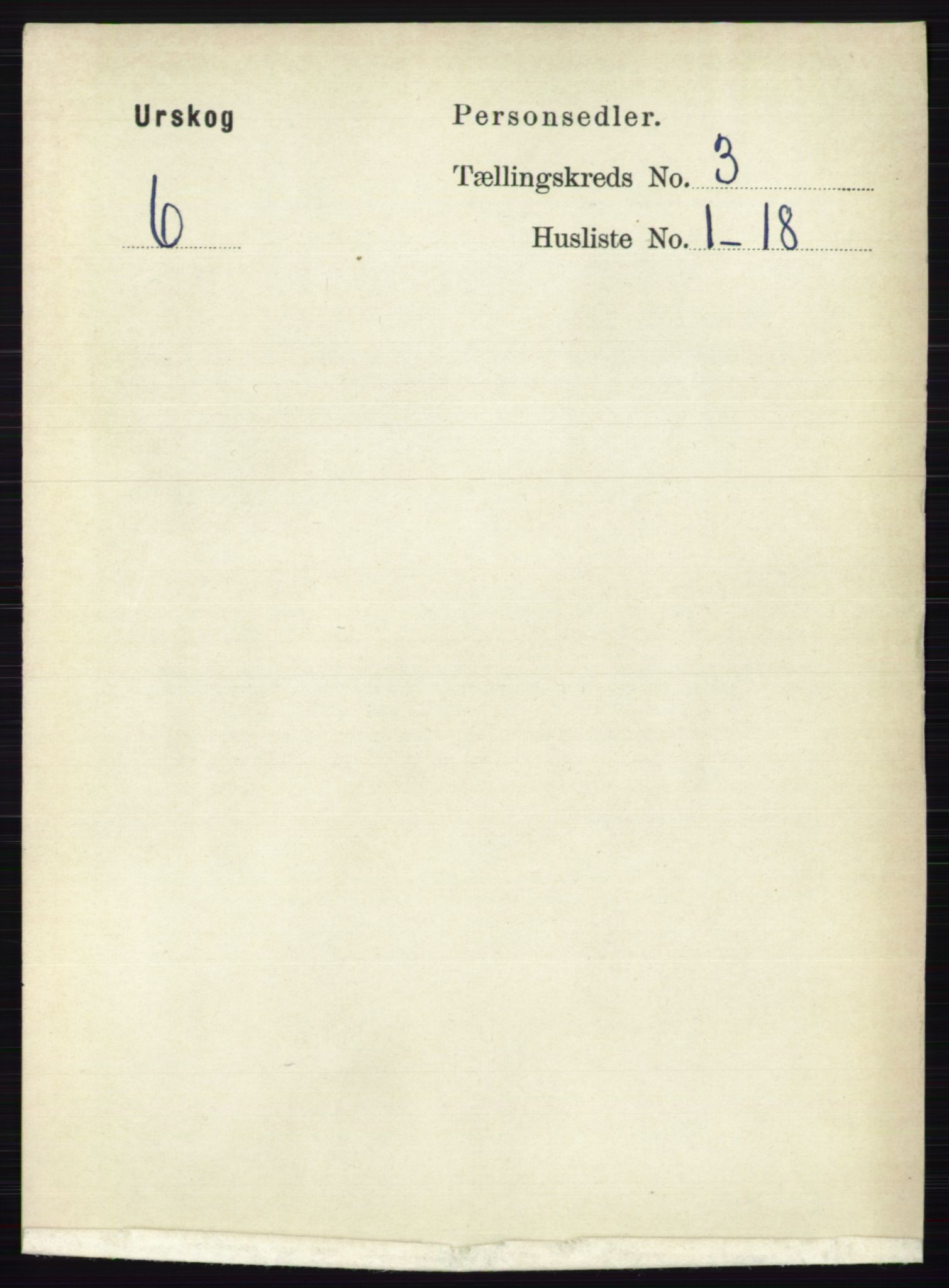 RA, Folketelling 1891 for 0224 Aurskog herred, 1891, s. 498