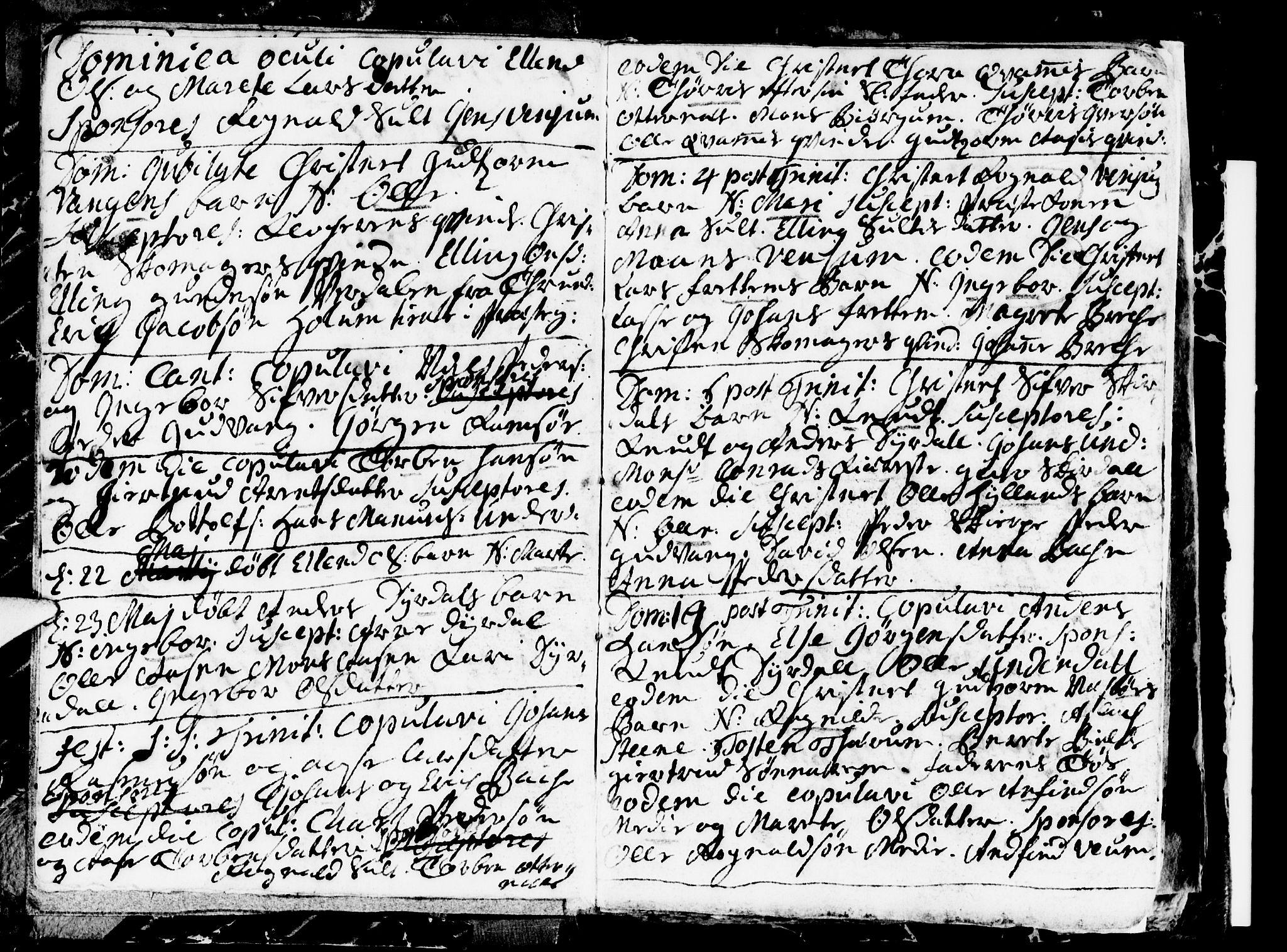 SAB, Aurland Sokneprestembete*, Ministerialbok nr. A 1, 1716-1734, s. 3