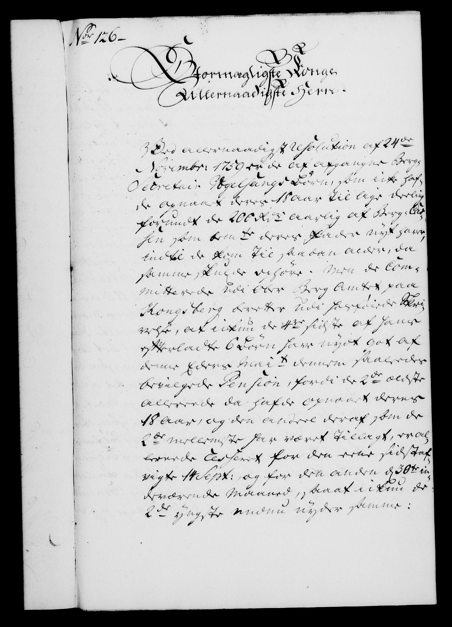 RA, Rentekammeret, Kammerkanselliet, G/Gf/Gfa/L0043: Norsk relasjons- og resolusjonsprotokoll (merket RK 52.43), 1761, s. 469