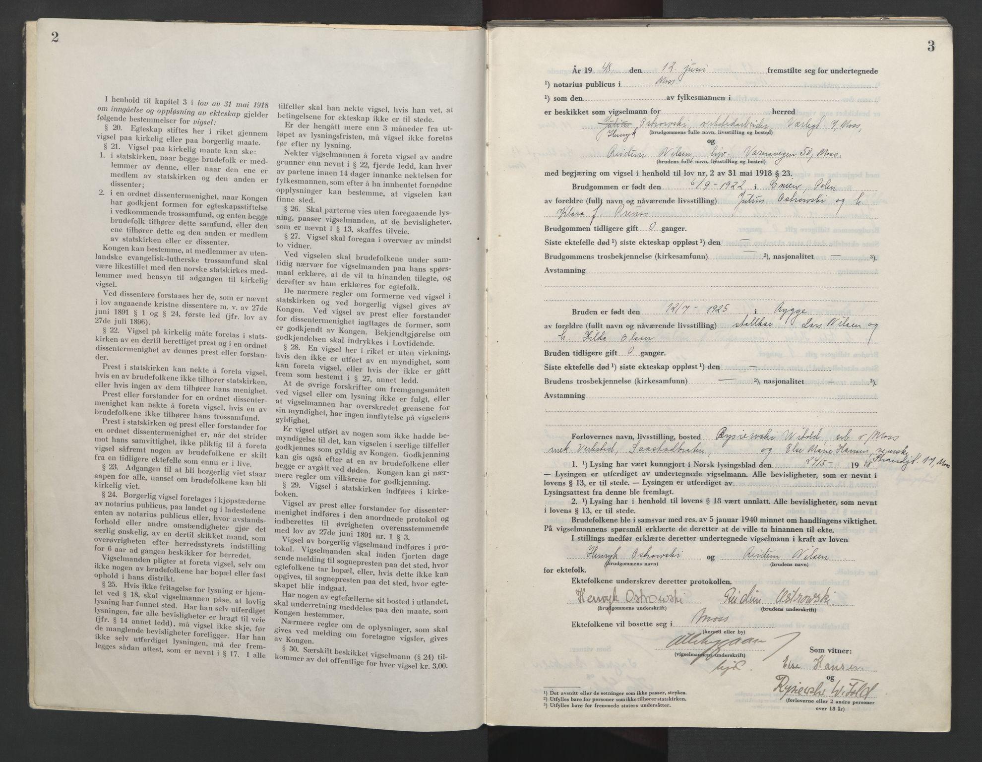 SAO, Moss sorenskriveri, 1948-1951, s. 2-3