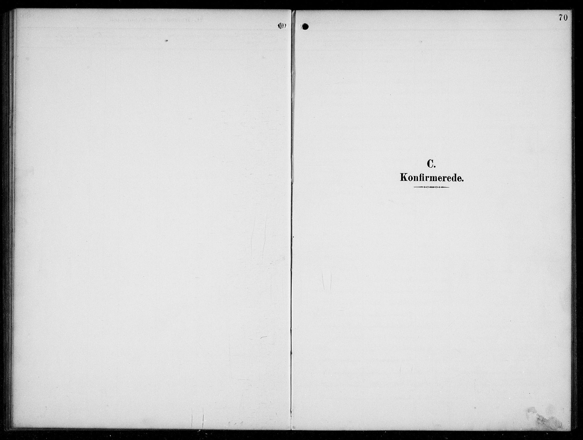 SAB, Hyllestad Sokneprestembete, Klokkerbok nr. C 3, 1894-1913, s. 70