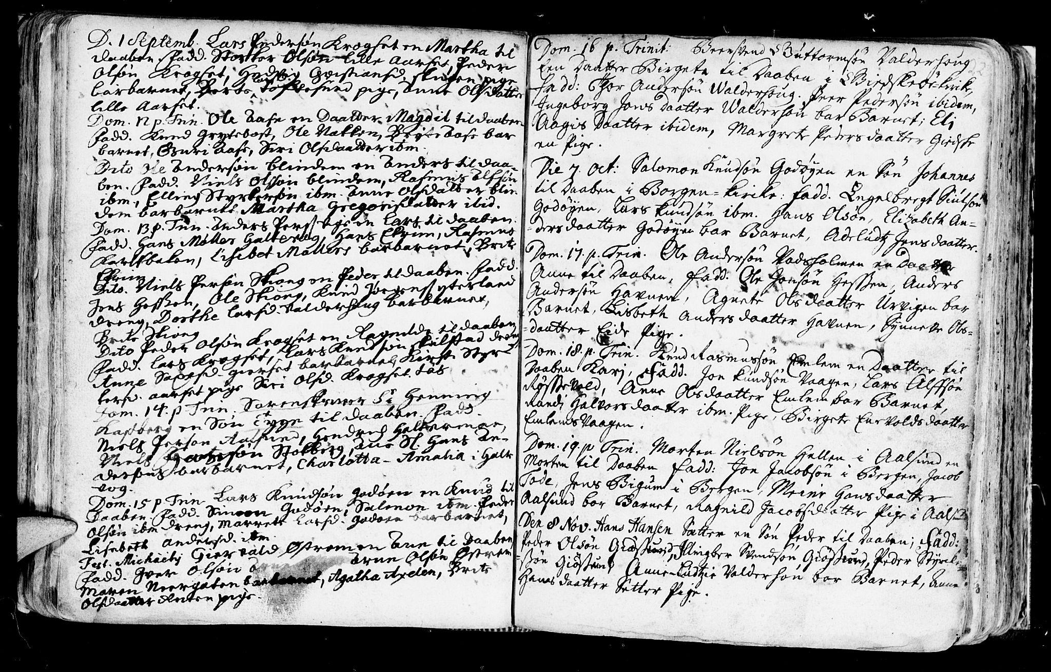SAT, Ministerialprotokoller, klokkerbøker og fødselsregistre - Møre og Romsdal, 528/L0390: Ministerialbok nr. 528A01, 1698-1739, s. 222-223