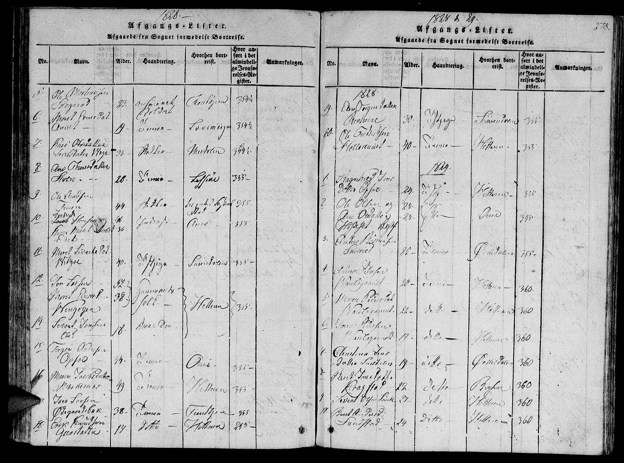 SAT, Ministerialprotokoller, klokkerbøker og fødselsregistre - Sør-Trøndelag, 630/L0491: Ministerialbok nr. 630A04, 1818-1830, s. 278