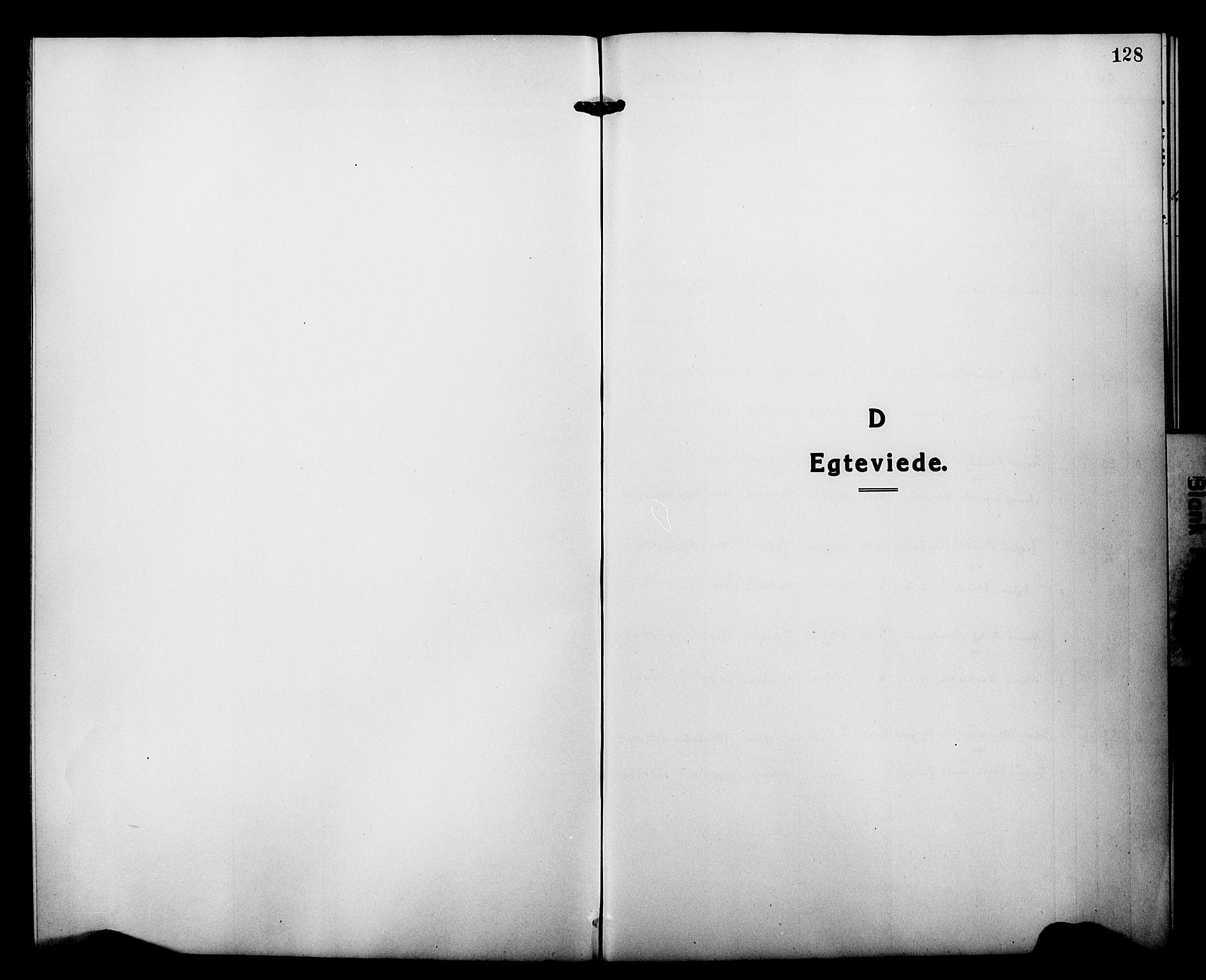 SATØ, Tranøy sokneprestkontor, I/Ia/Iab/L0015klokker: Klokkerbok nr. 15, 1918-1930, s. 128
