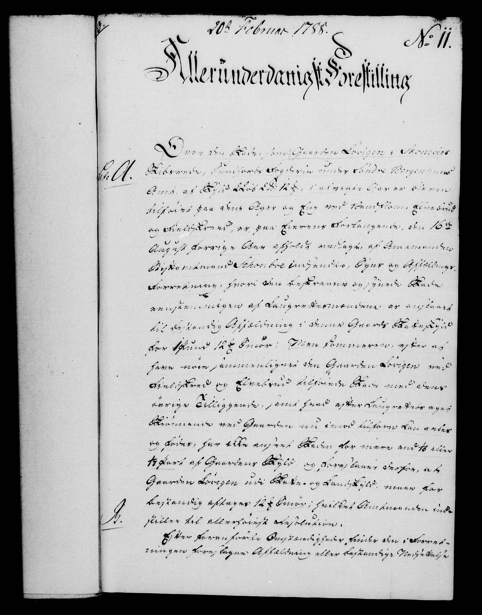 RA, Rentekammeret, Kammerkanselliet, G/Gf/Gfa/L0070: Norsk relasjons- og resolusjonsprotokoll (merket RK 52.70), 1788, s. 74