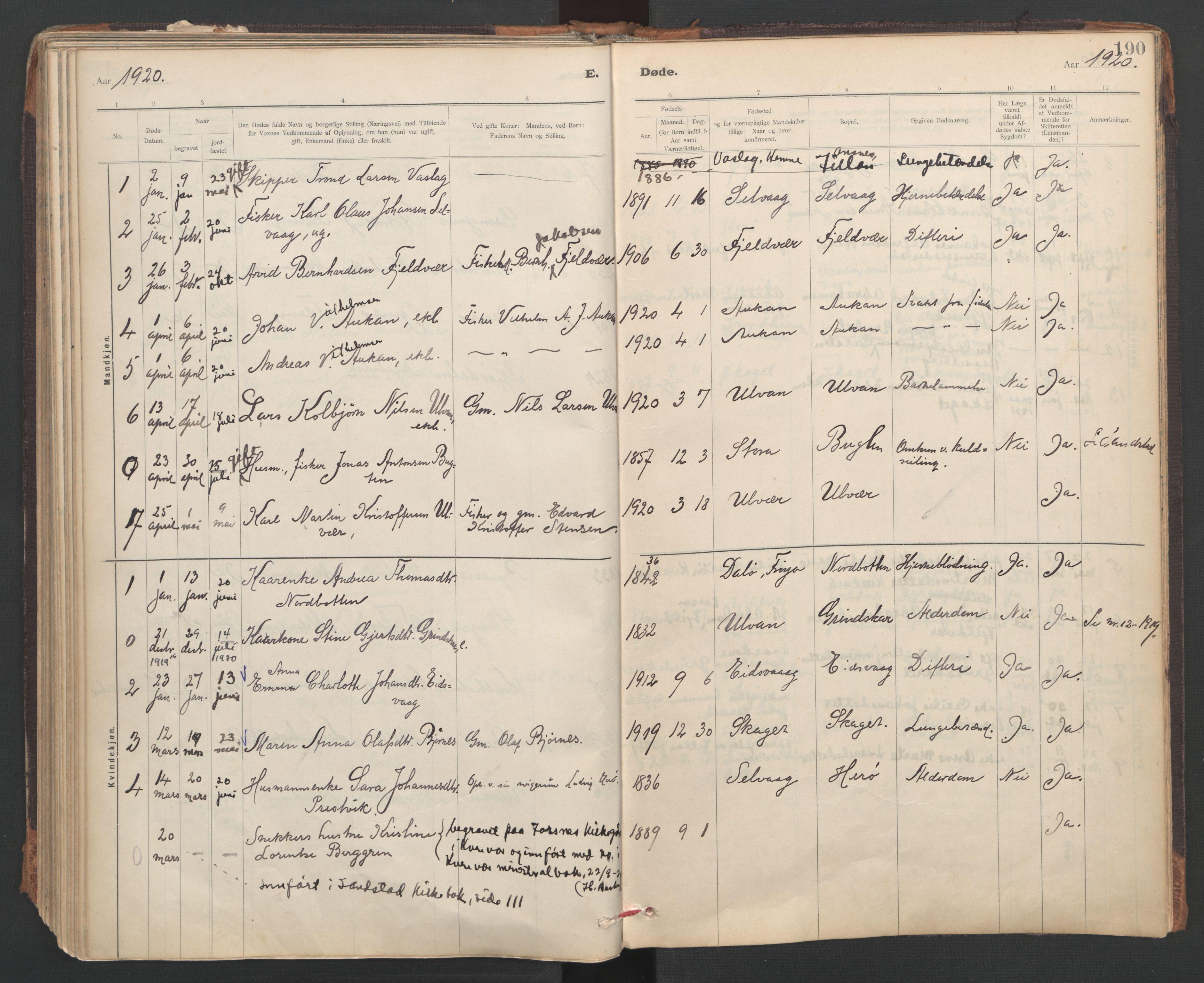 SAT, Ministerialprotokoller, klokkerbøker og fødselsregistre - Sør-Trøndelag, 637/L0559: Ministerialbok nr. 637A02, 1899-1923, s. 190