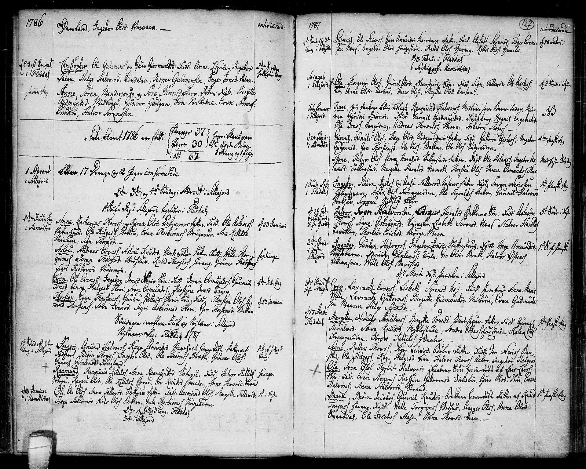 SAKO, Seljord kirkebøker, F/Fa/L0007: Ministerialbok nr. I 7, 1755-1800, s. 127