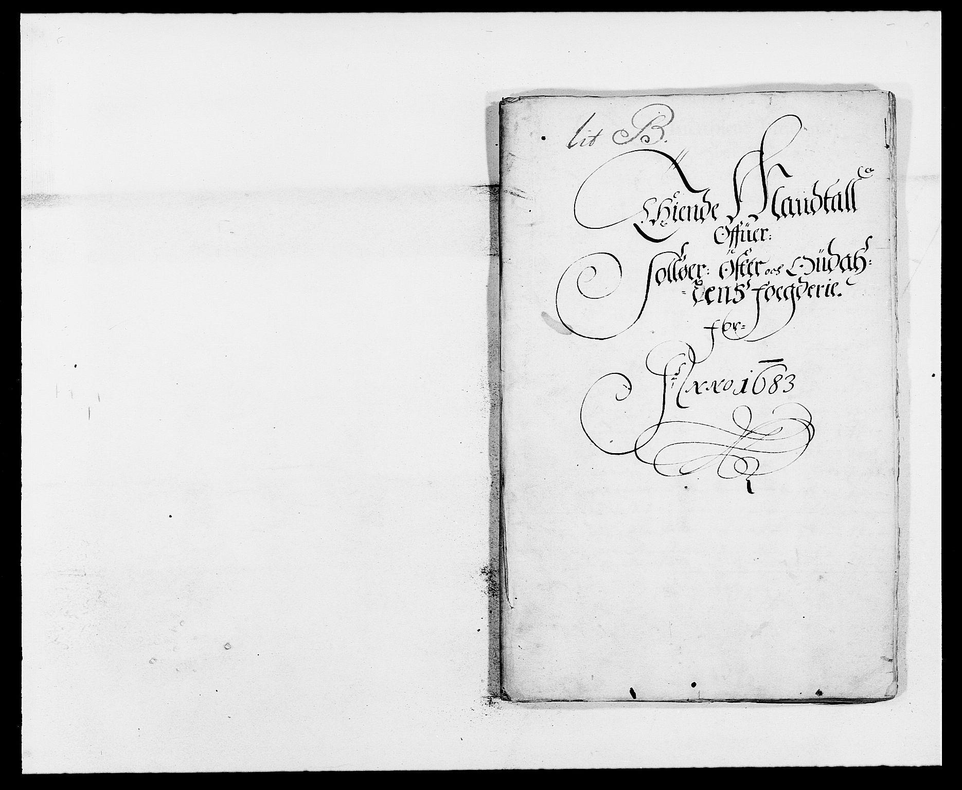 RA, Rentekammeret inntil 1814, Reviderte regnskaper, Fogderegnskap, R13/L0820: Fogderegnskap Solør, Odal og Østerdal, 1683, s. 135