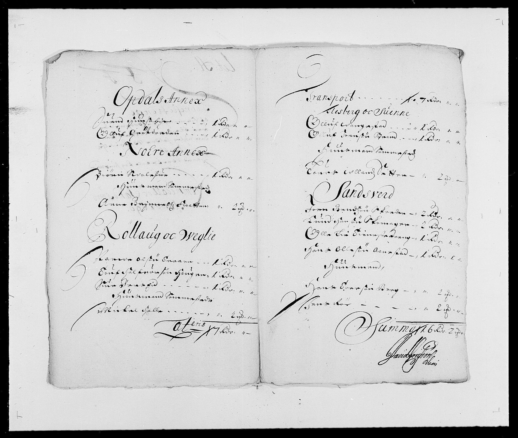RA, Rentekammeret inntil 1814, Reviderte regnskaper, Fogderegnskap, R24/L1573: Fogderegnskap Numedal og Sandsvær, 1687-1691, s. 451