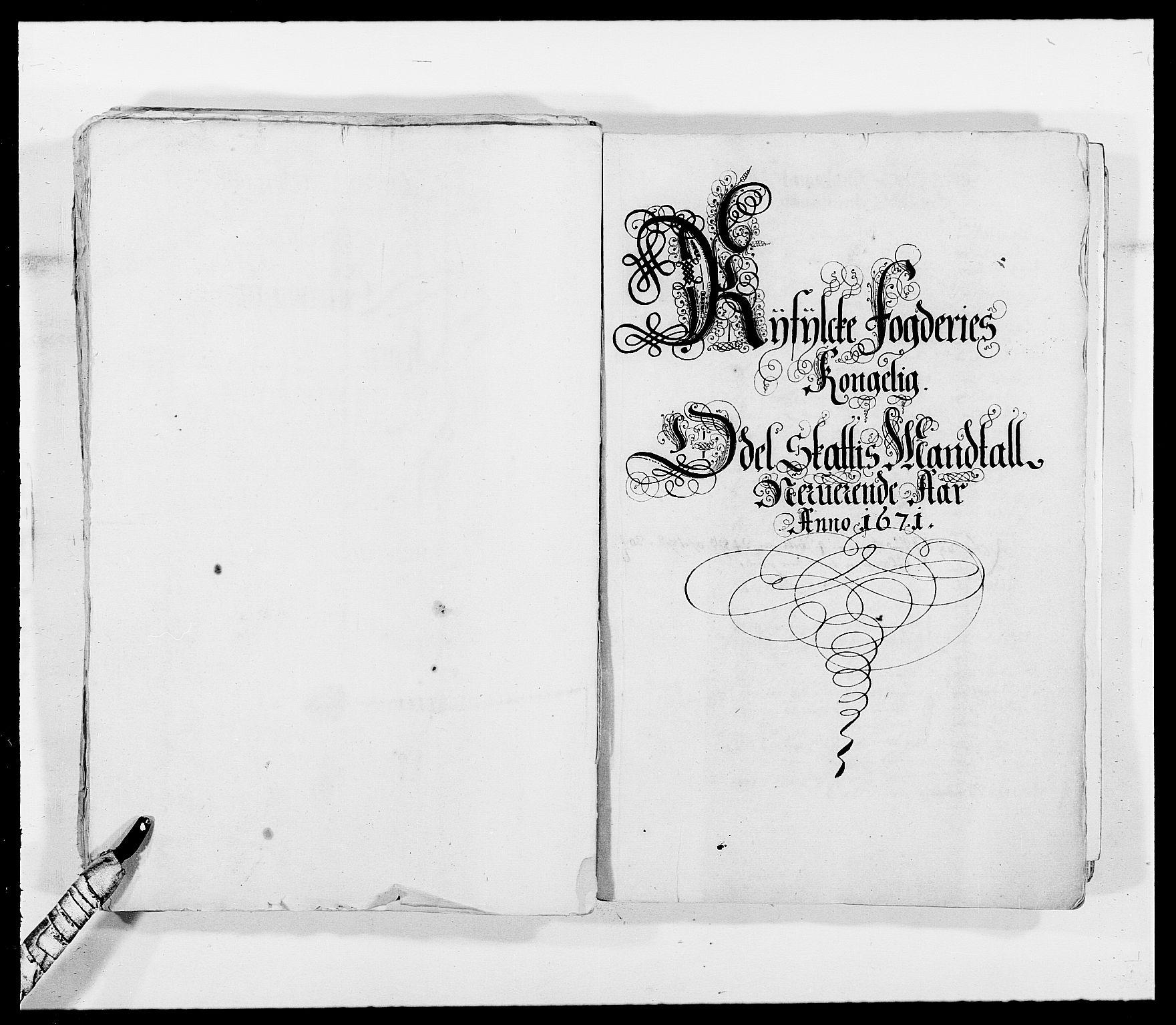 RA, Rentekammeret inntil 1814, Reviderte regnskaper, Fogderegnskap, R47/L2843: Fogderegnskap Ryfylke, 1670-1671, s. 316