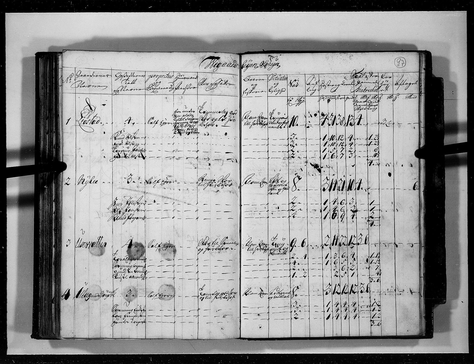 RA, Rentekammeret inntil 1814, Realistisk ordnet avdeling, N/Nb/Nbf/L0125: Råbyggelag eksaminasjonsprotokoll, 1723, s. 96b-97a