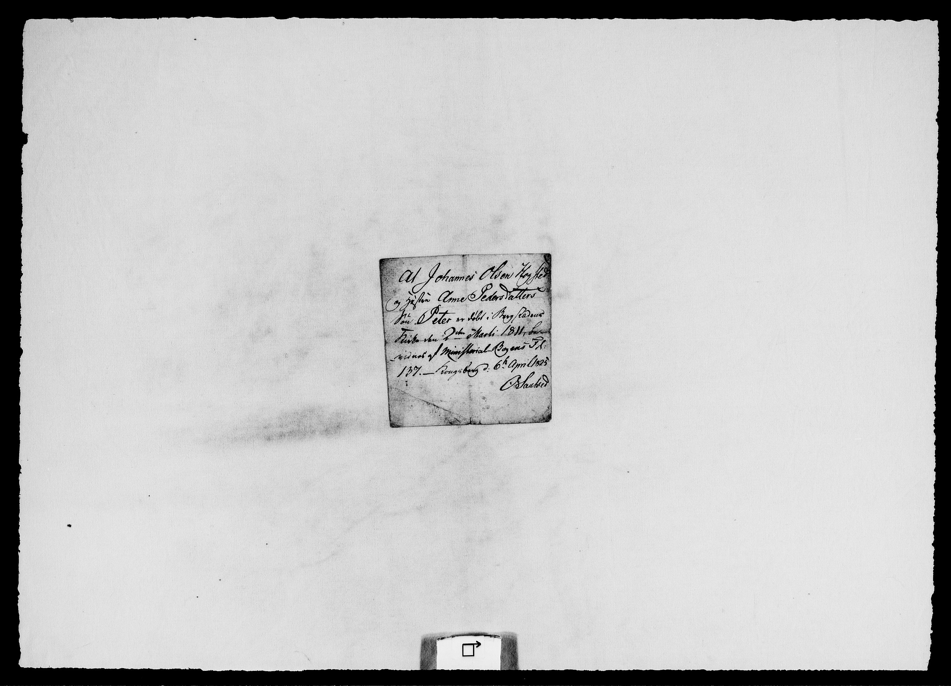 RA, Modums Blaafarveværk, G/Gg/L0376, 1822-1848, s. 2
