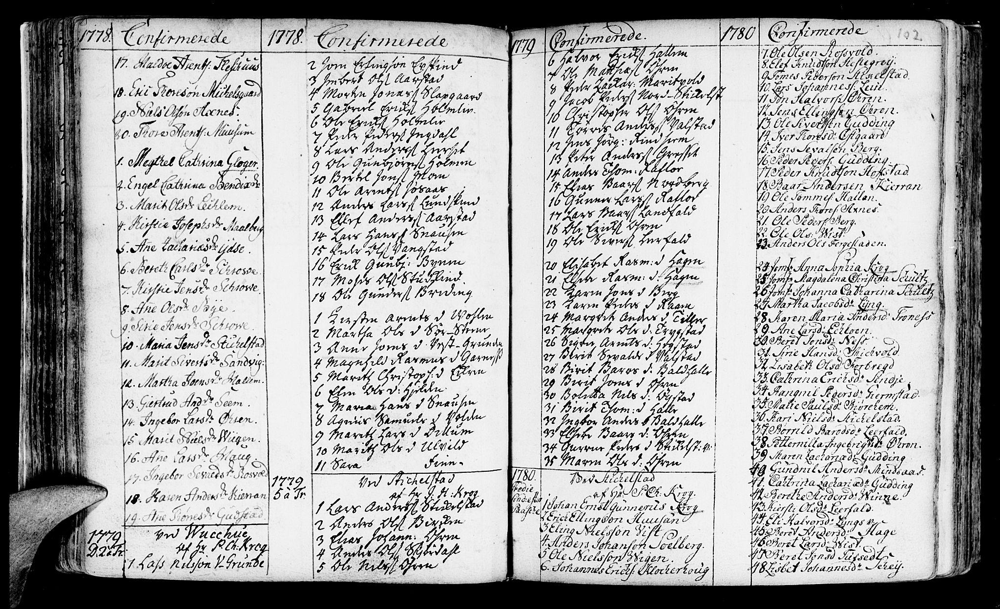 SAT, Ministerialprotokoller, klokkerbøker og fødselsregistre - Nord-Trøndelag, 723/L0231: Ministerialbok nr. 723A02, 1748-1780, s. 102