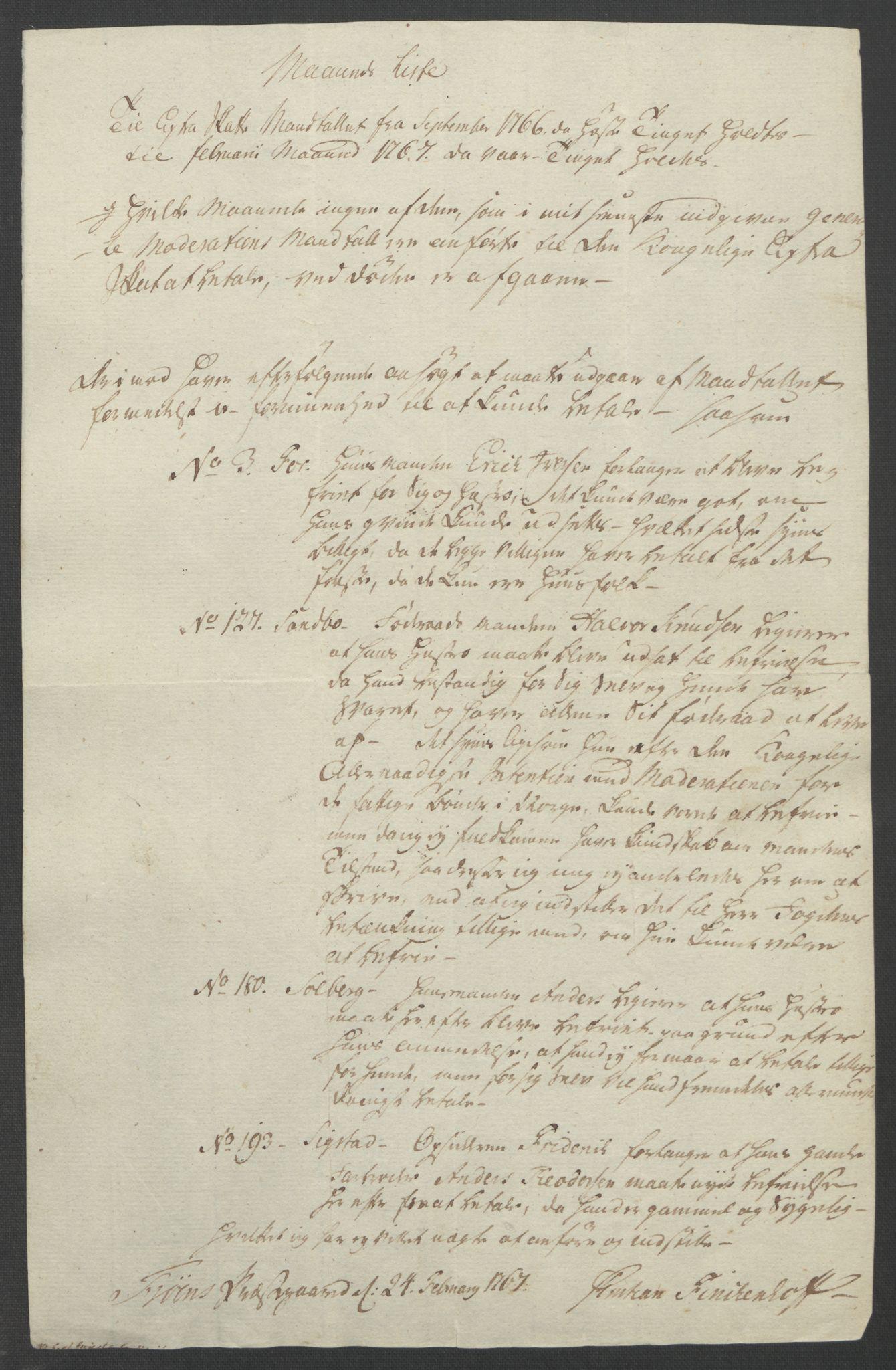 RA, Rentekammeret inntil 1814, Reviderte regnskaper, Fogderegnskap, R17/L1266: Ekstraskatten Gudbrandsdal, 1762-1766, s. 568