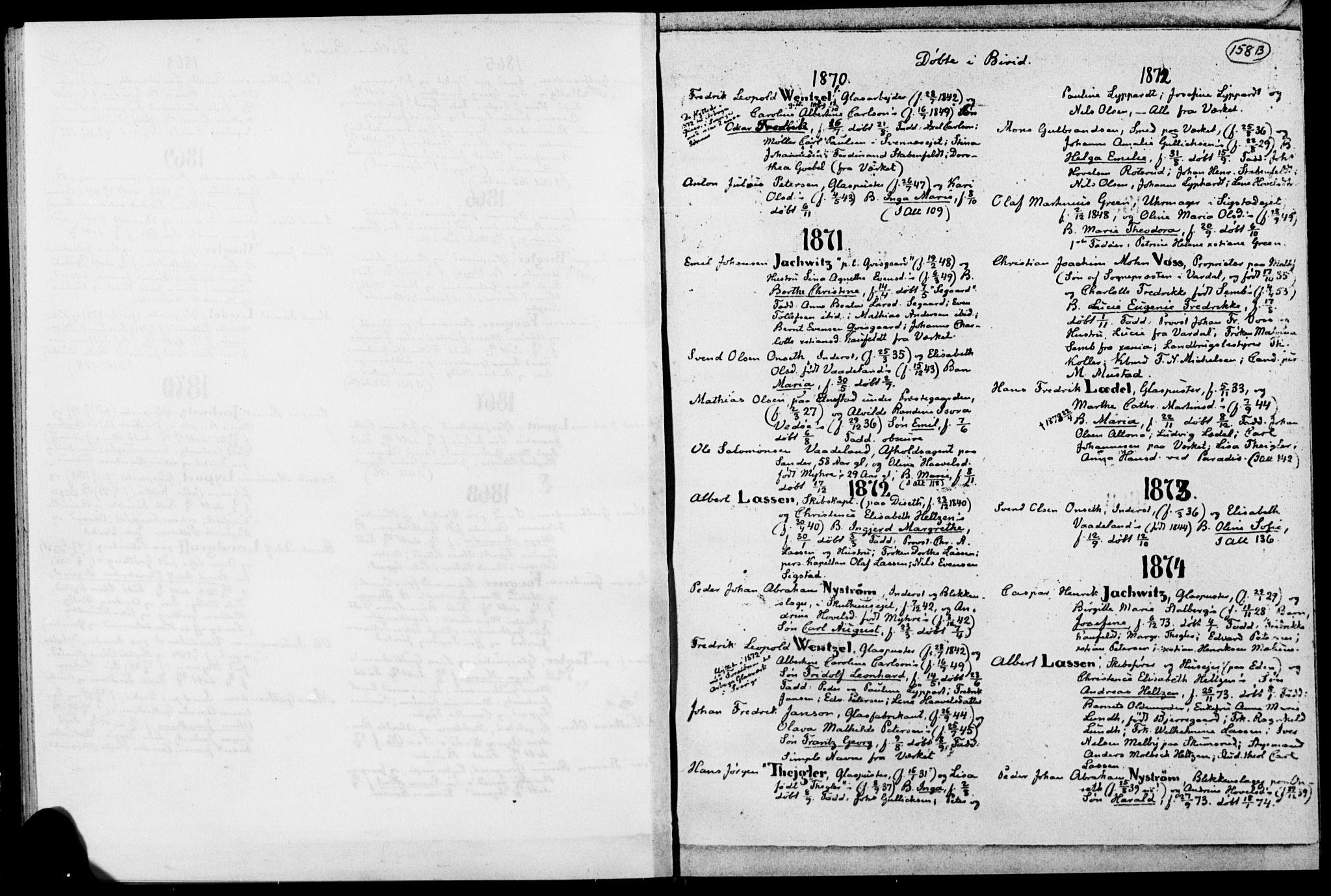 SAH, Biri prestekontor, Ministerialbok, 1730-1879, s. 158b