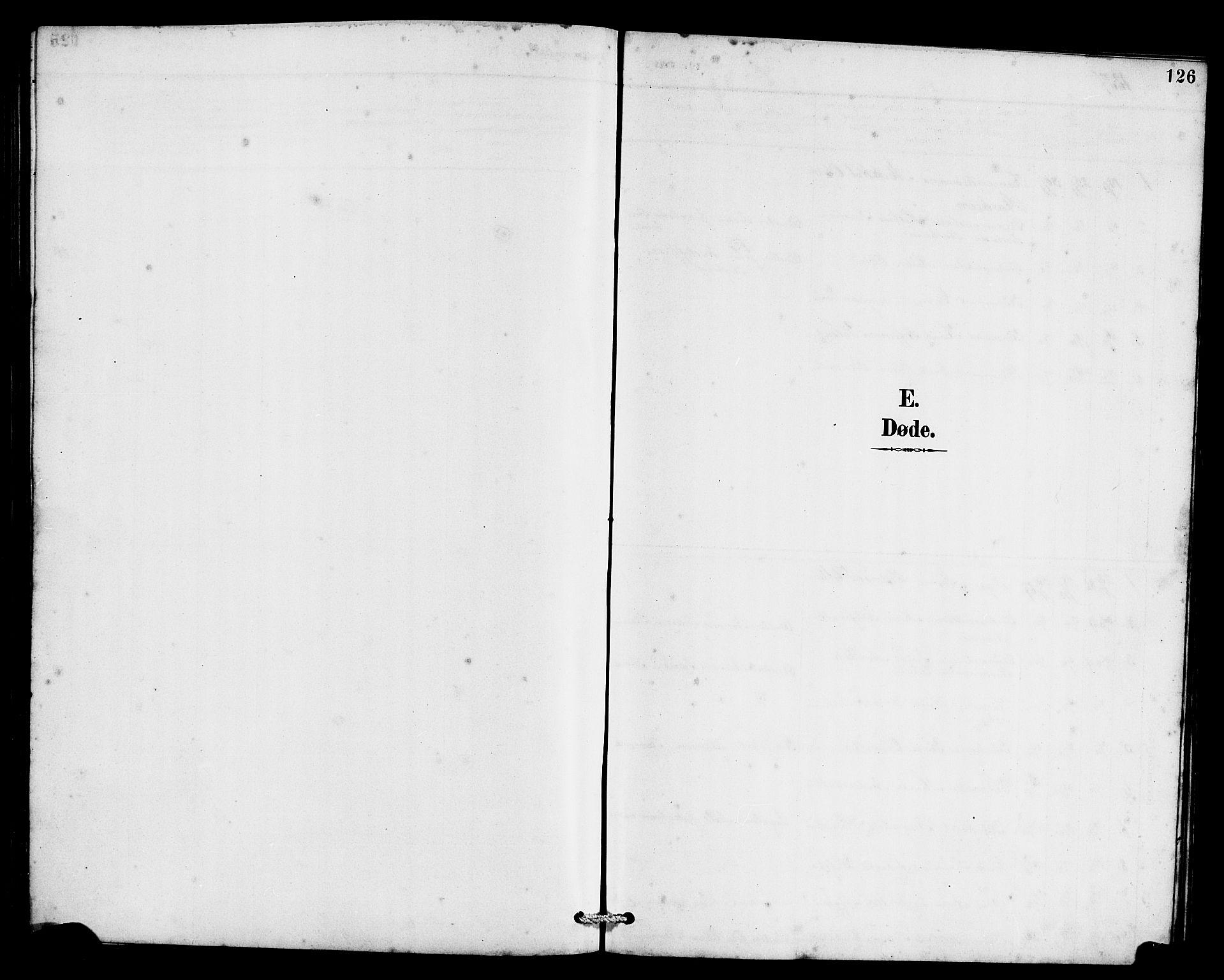 SAB, Eid Sokneprestembete, H/Hab: Klokkerbok nr. C 2, 1887-1906, s. 126