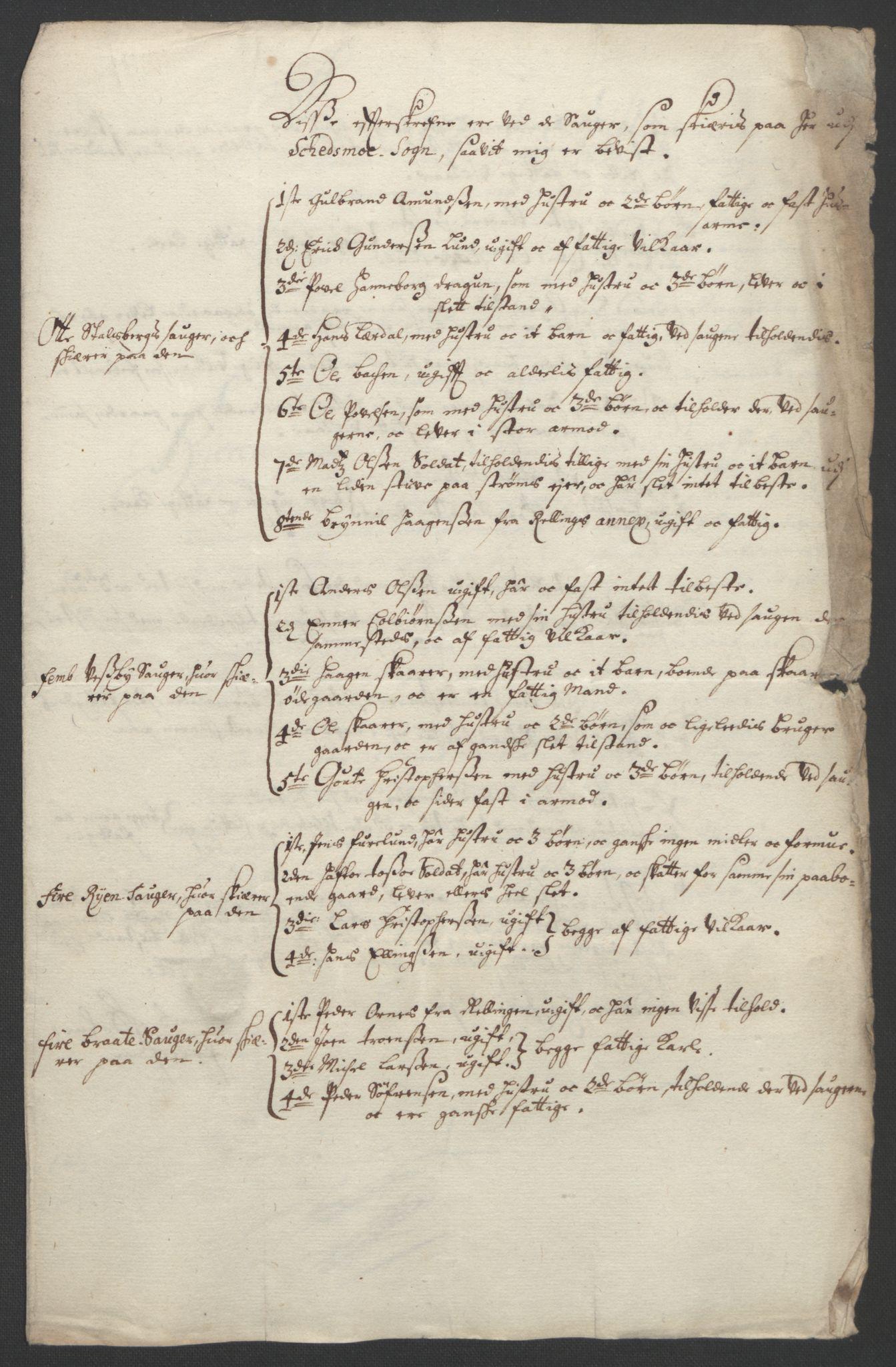 RA, Rentekammeret inntil 1814, Reviderte regnskaper, Fogderegnskap, R11/L0577: Fogderegnskap Nedre Romerike, 1692, s. 195