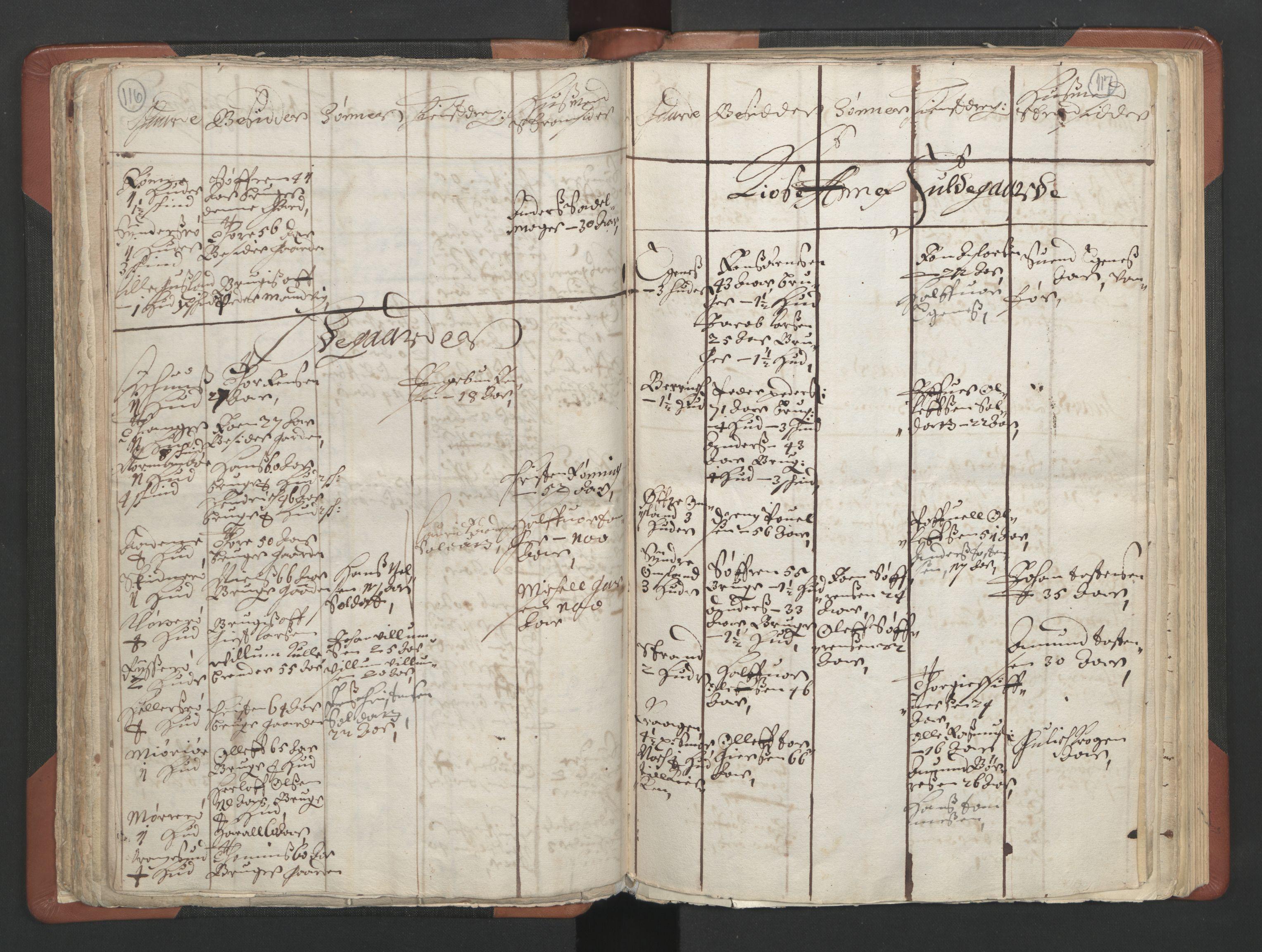 RA, Sogneprestenes manntall 1664-1666, nr. 11: Brunlanes prosti, 1664-1666, s. 116-117