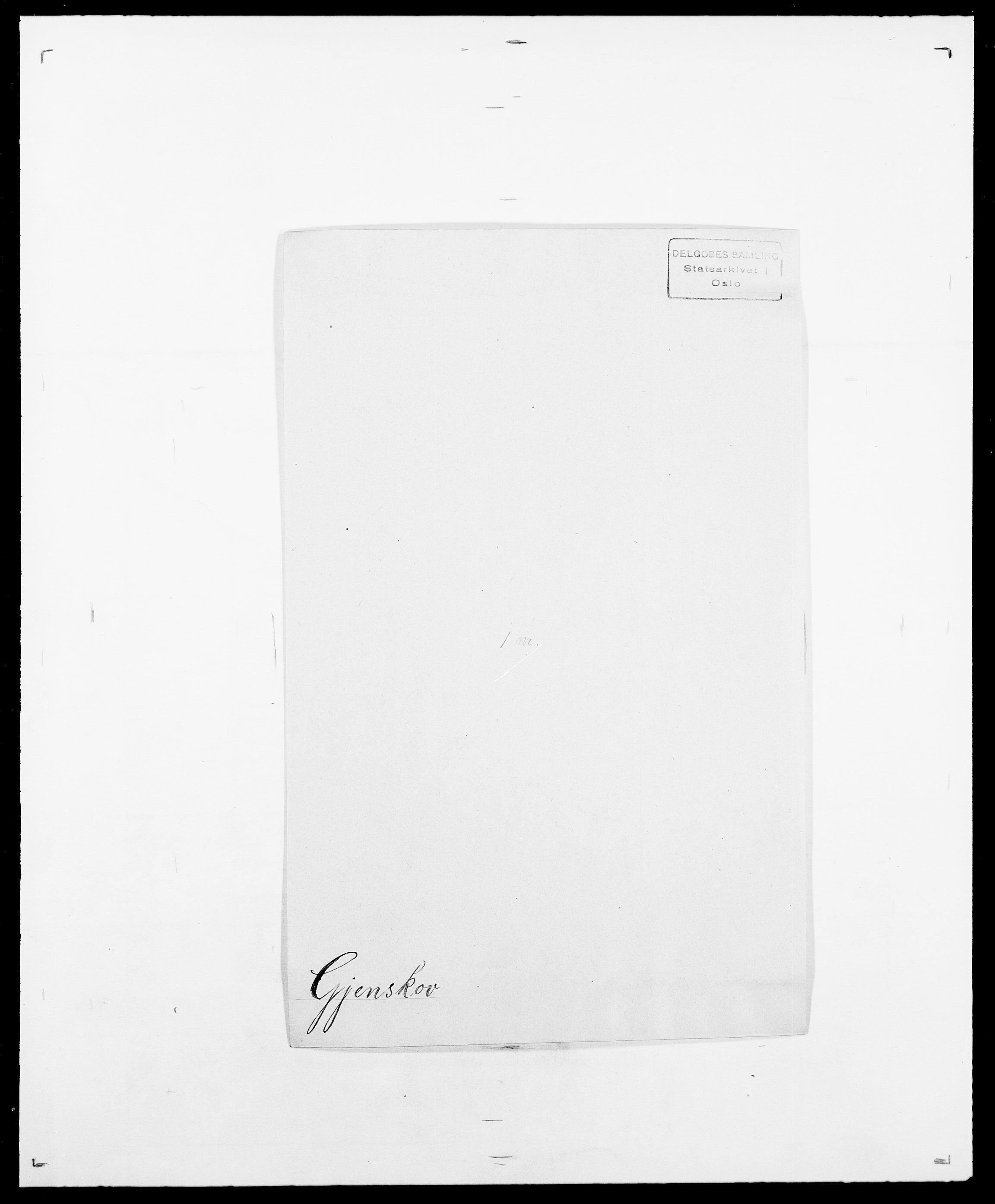 SAO, Delgobe, Charles Antoine - samling, D/Da/L0014: Giebdhausen - Grip, s. 101