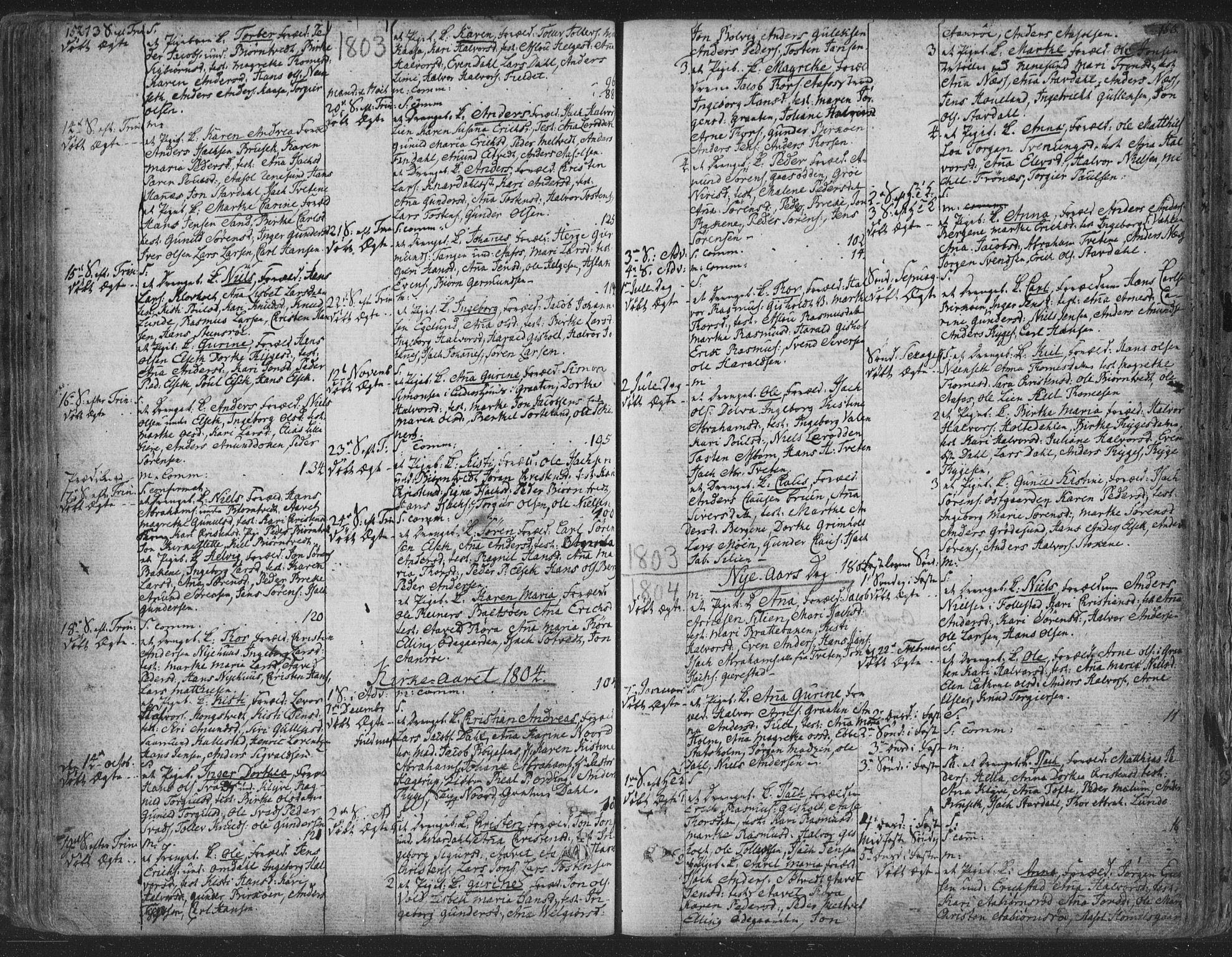 SAKO, Solum kirkebøker, F/Fa/L0003: Ministerialbok nr. I 3, 1761-1814, s. 152-153
