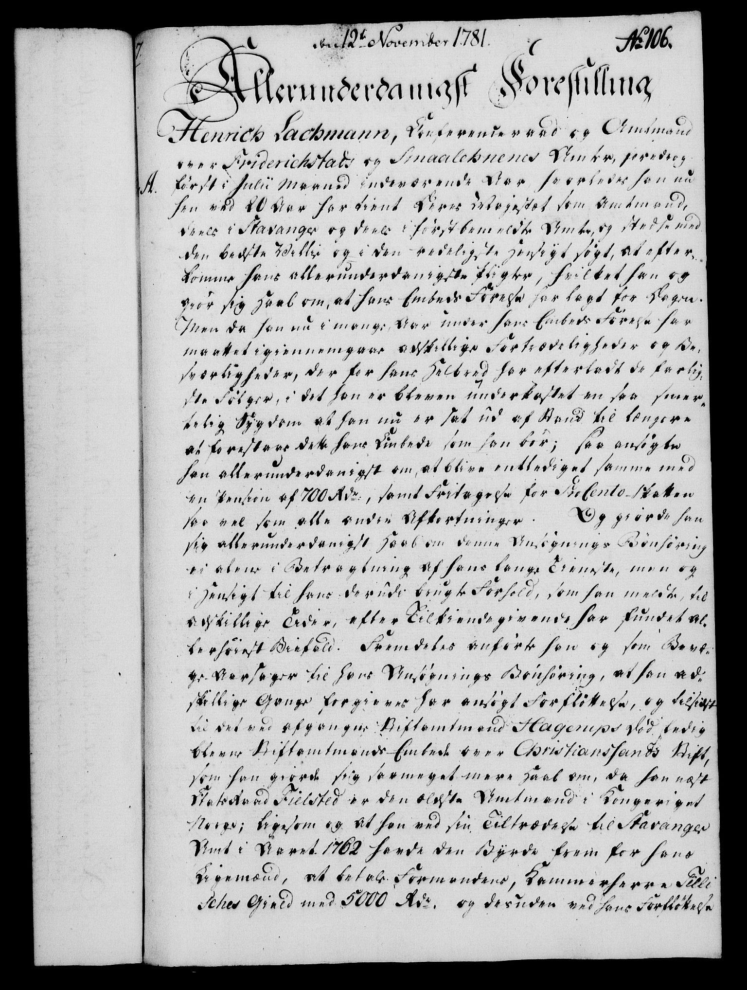 RA, Rentekammeret, Kammerkanselliet, G/Gf/Gfa/L0063: Norsk relasjons- og resolusjonsprotokoll (merket RK 52.63), 1781, s. 1115
