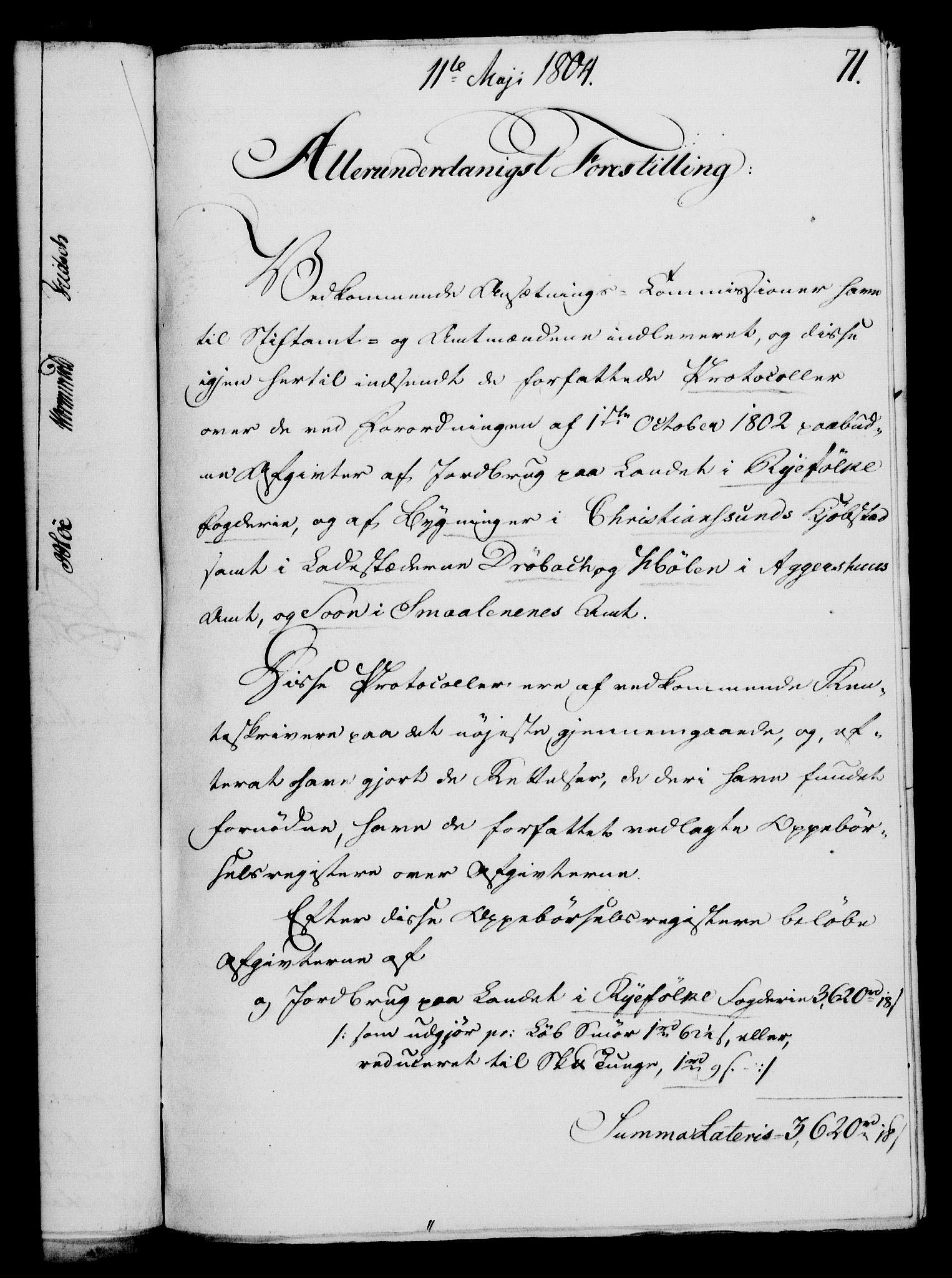 RA, Rentekammeret, Kammerkanselliet, G/Gf/Gfa/L0086: Norsk relasjons- og resolusjonsprotokoll (merket RK 52.86), 1804, s. 477
