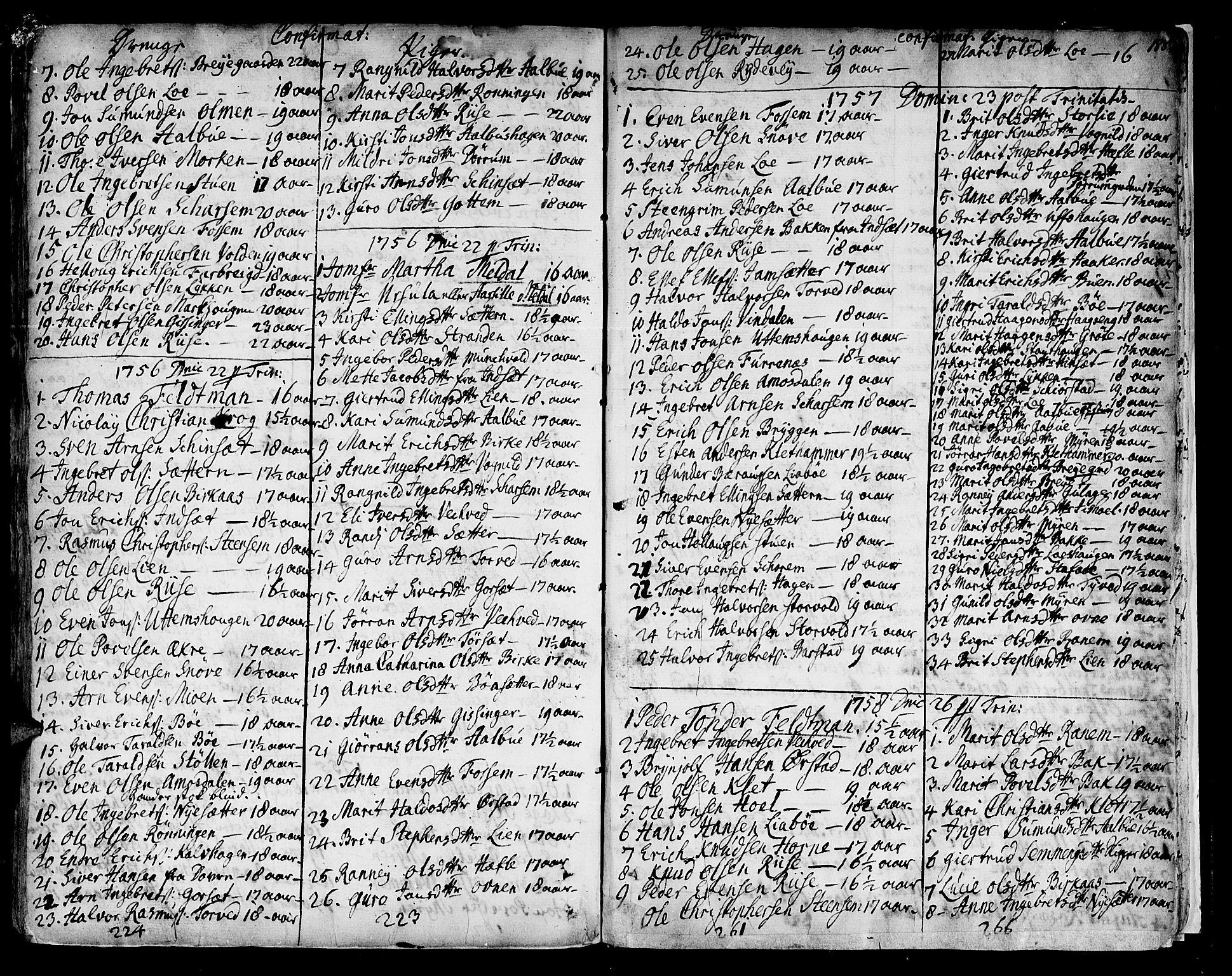 SAT, Ministerialprotokoller, klokkerbøker og fødselsregistre - Sør-Trøndelag, 678/L0891: Ministerialbok nr. 678A01, 1739-1780, s. 188