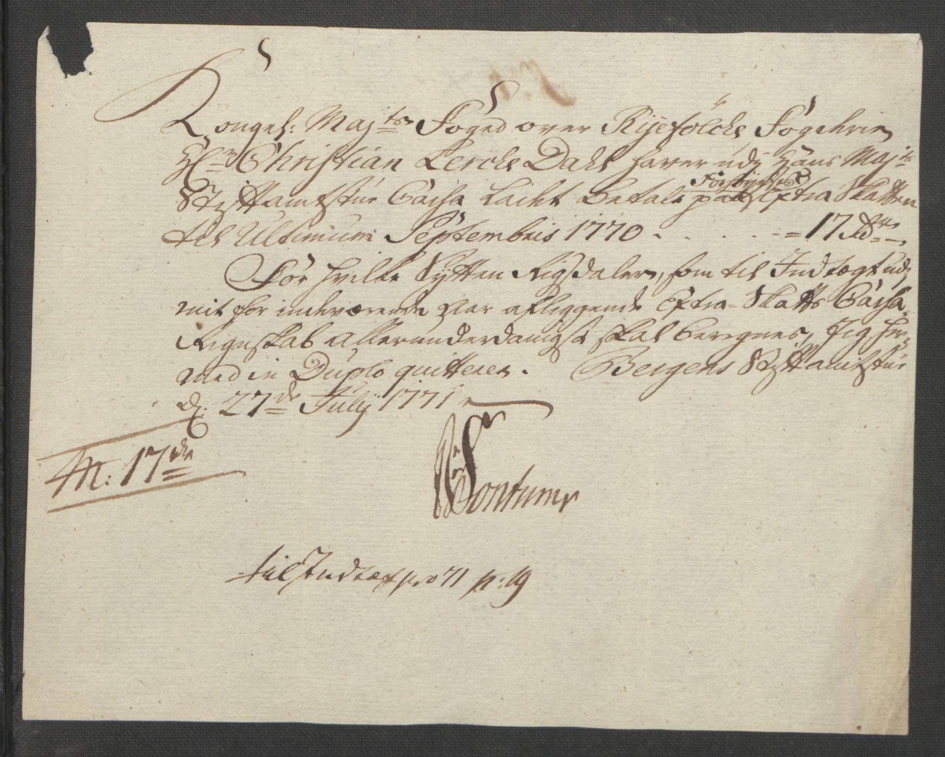 RA, Rentekammeret inntil 1814, Reviderte regnskaper, Fogderegnskap, R47/L2972: Ekstraskatten Ryfylke, 1762-1780, s. 258