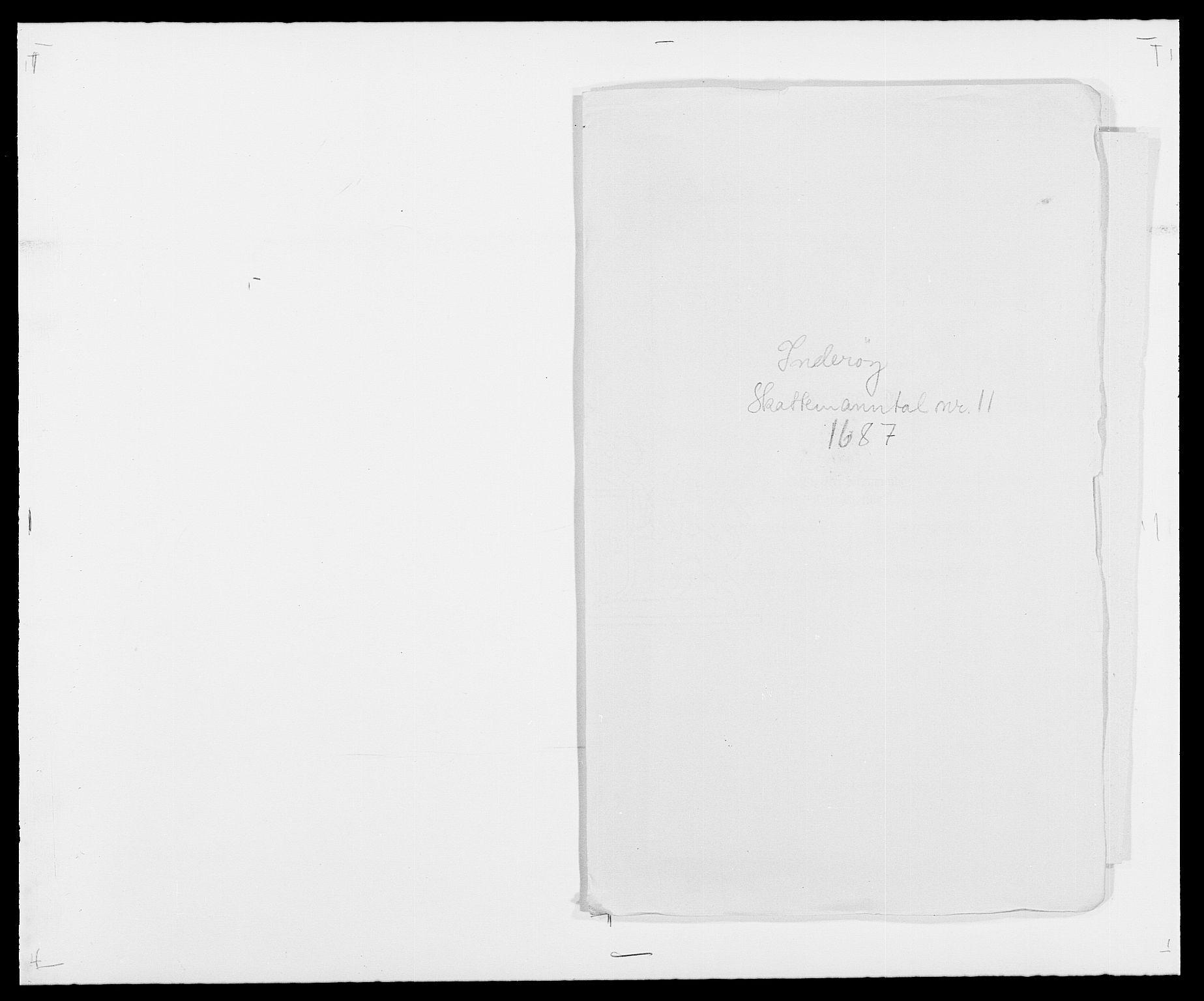 RA, Rentekammeret inntil 1814, Reviderte regnskaper, Fogderegnskap, R63/L4306: Fogderegnskap Inderøy, 1687-1689, s. 222