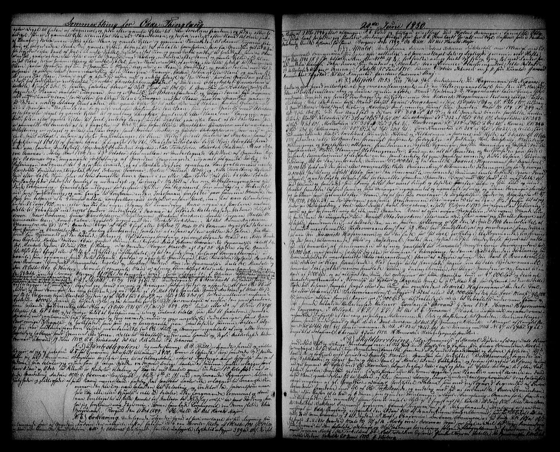 SAK, Mandal sorenskriveri, G/Gb/Gba/L0033: Pantebok nr. 14, 1847-1851, s. 285