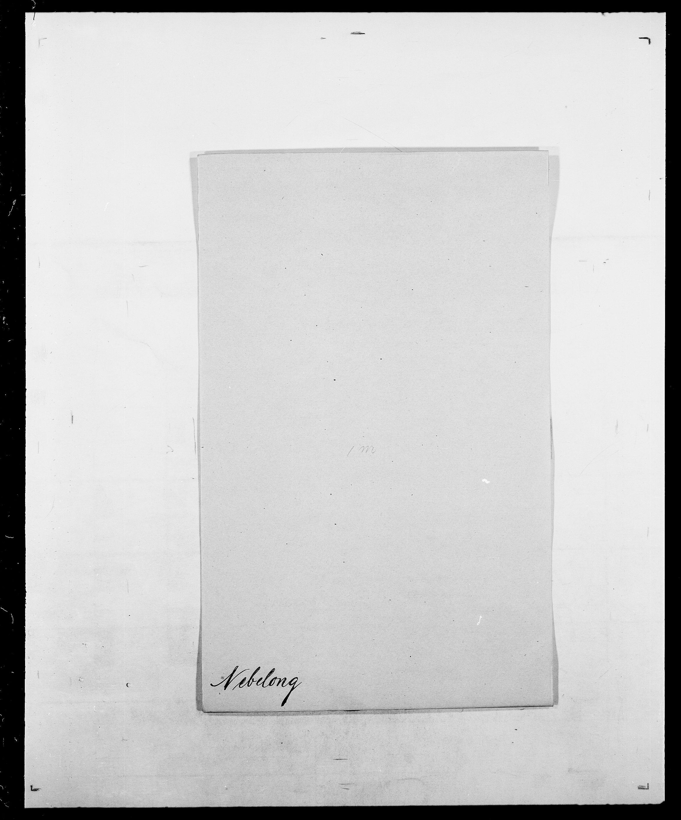 SAO, Delgobe, Charles Antoine - samling, D/Da/L0028: Naaden - Nøvik, s. 80