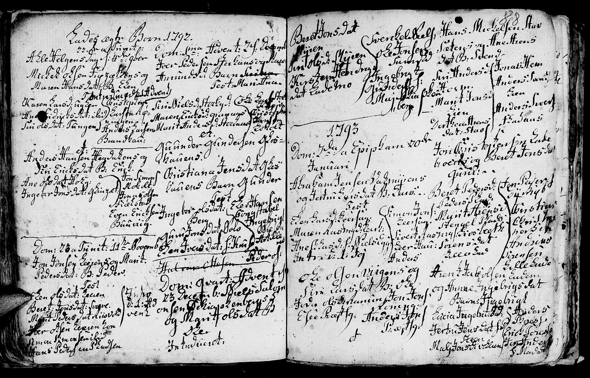 SAT, Ministerialprotokoller, klokkerbøker og fødselsregistre - Sør-Trøndelag, 606/L0305: Klokkerbok nr. 606C01, 1757-1819, s. 88
