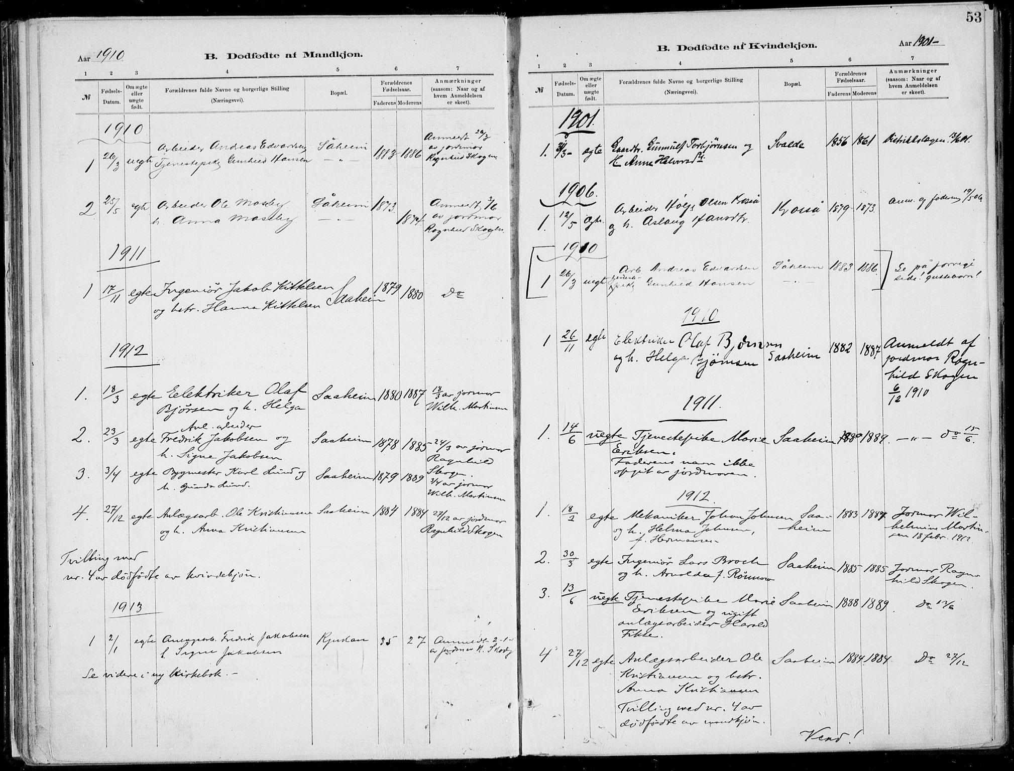SAKO, Rjukan kirkebøker, F/Fa/L0001: Ministerialbok nr. 1, 1878-1912, s. 53