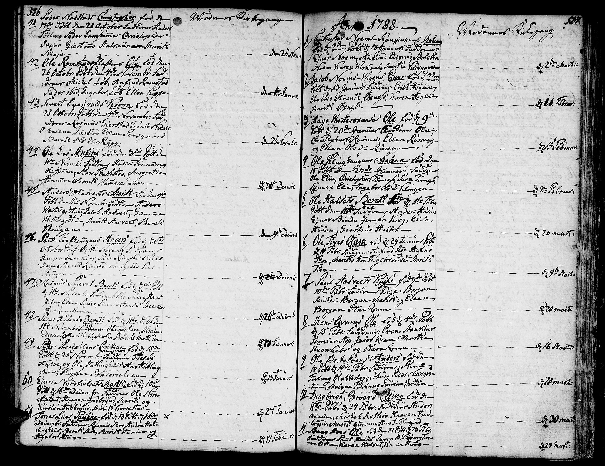 SAT, Ministerialprotokoller, klokkerbøker og fødselsregistre - Nord-Trøndelag, 746/L0440: Ministerialbok nr. 746A02, 1760-1815, s. 526-527