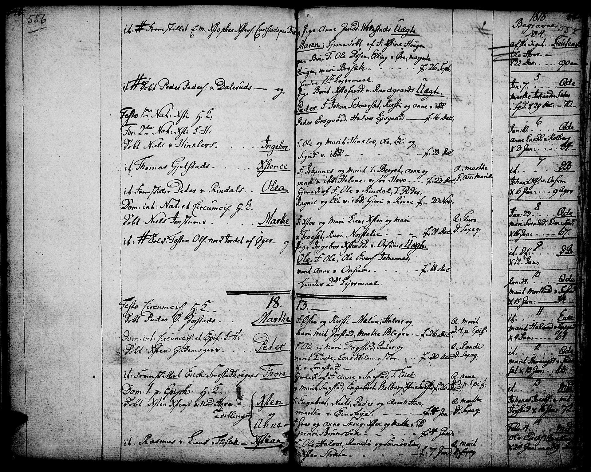 SAH, Fåberg prestekontor, Ministerialbok nr. 2, 1775-1818, s. 556-557