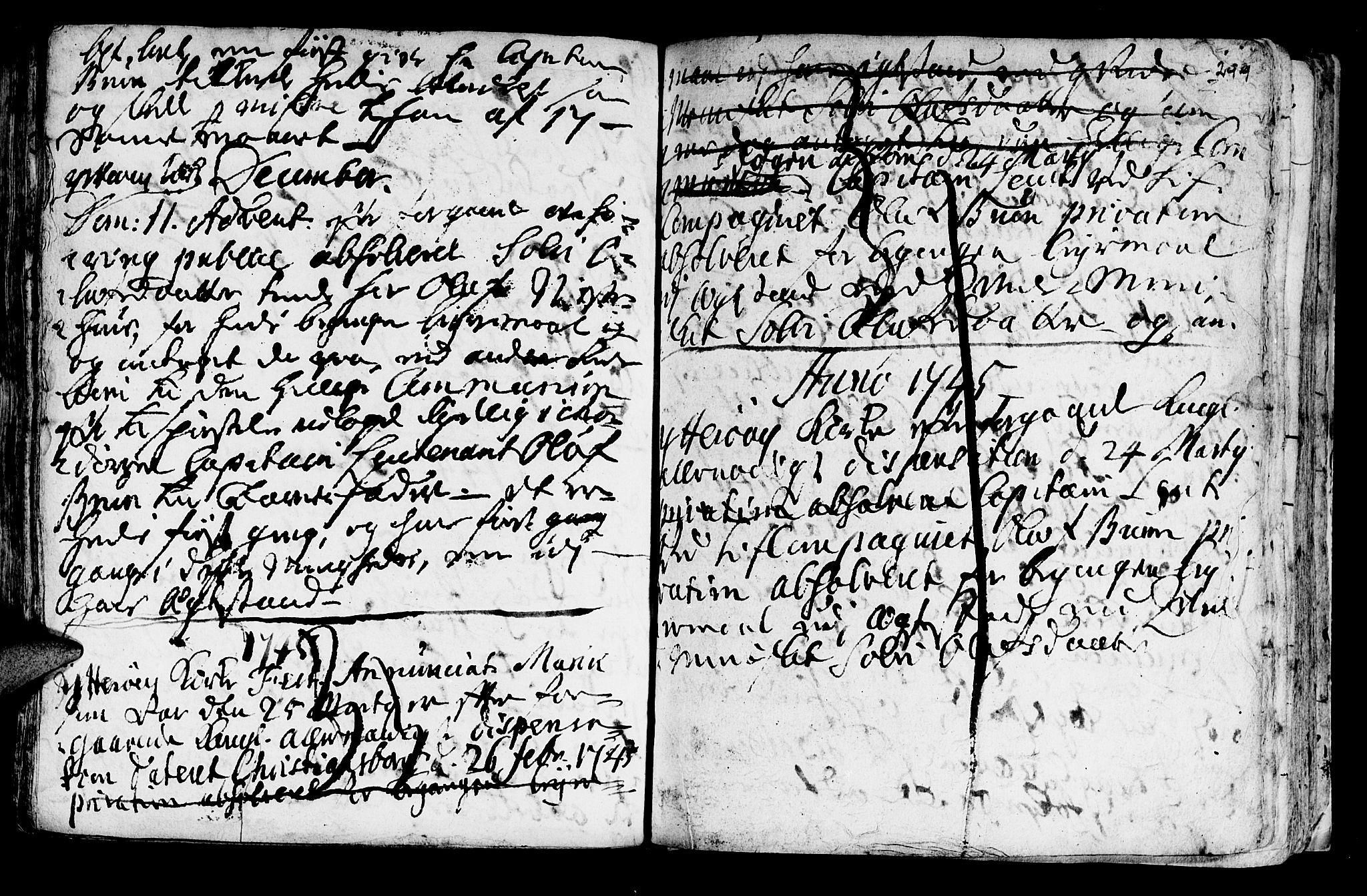 SAT, Ministerialprotokoller, klokkerbøker og fødselsregistre - Nord-Trøndelag, 722/L0215: Ministerialbok nr. 722A02, 1718-1755, s. 299