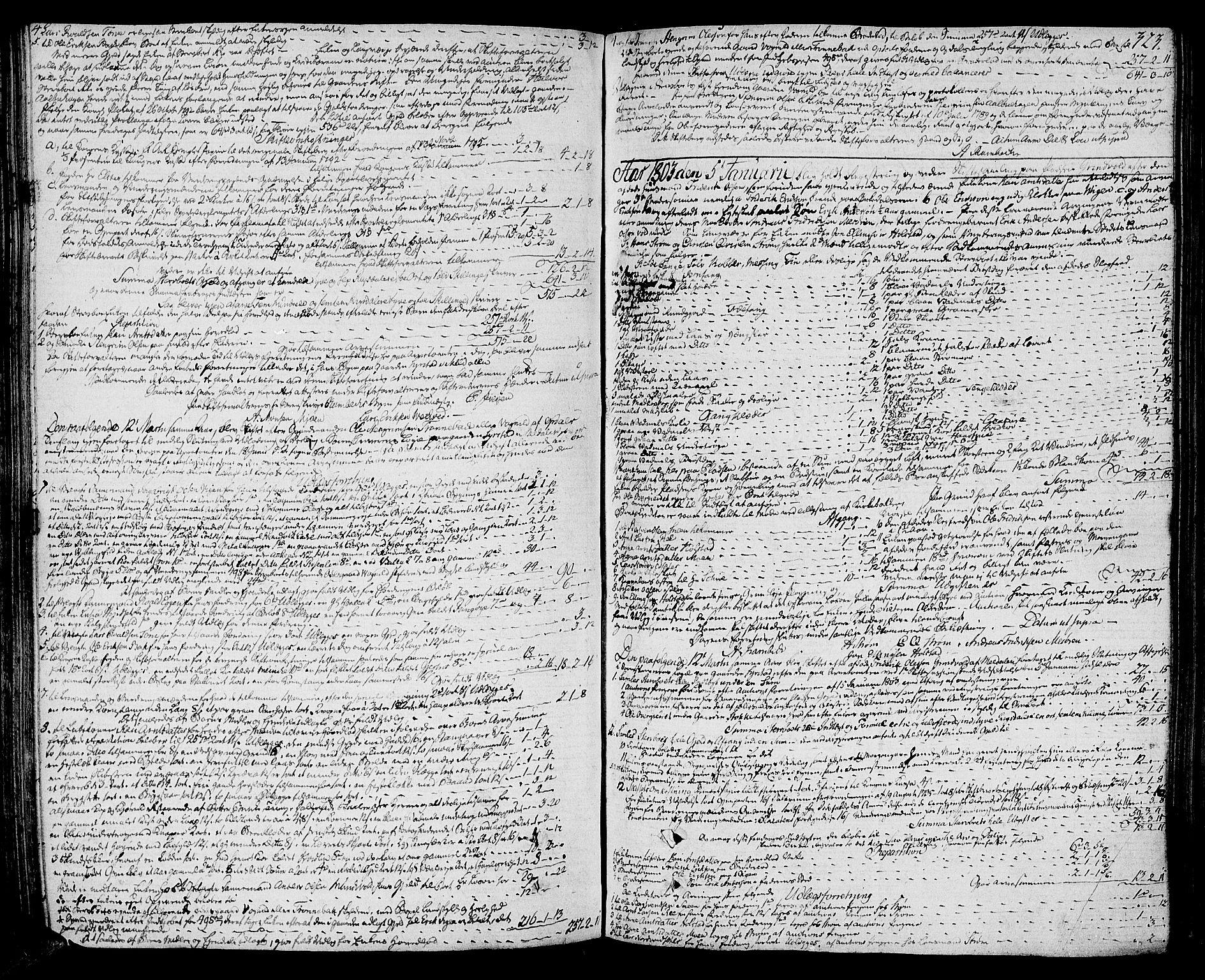 SAT, Orkdal sorenskriveri, 3/3Aa/L0009: Skifteprotokoller, 1796-1805, s. 322b-323a