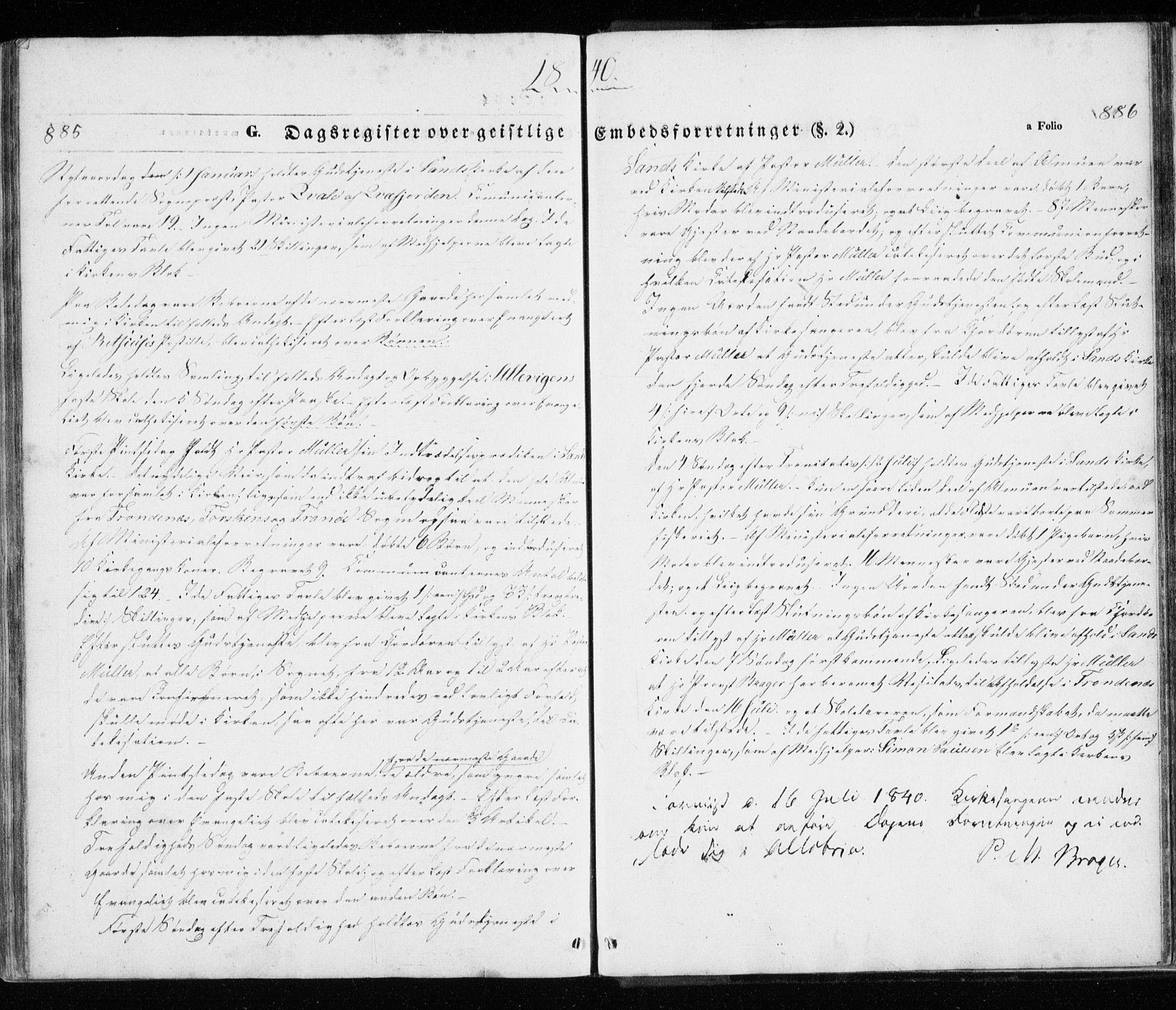 SATØ, Trondenes sokneprestkontor, H/Ha/L0010kirke: Ministerialbok nr. 10, 1840-1865, s. 885-886