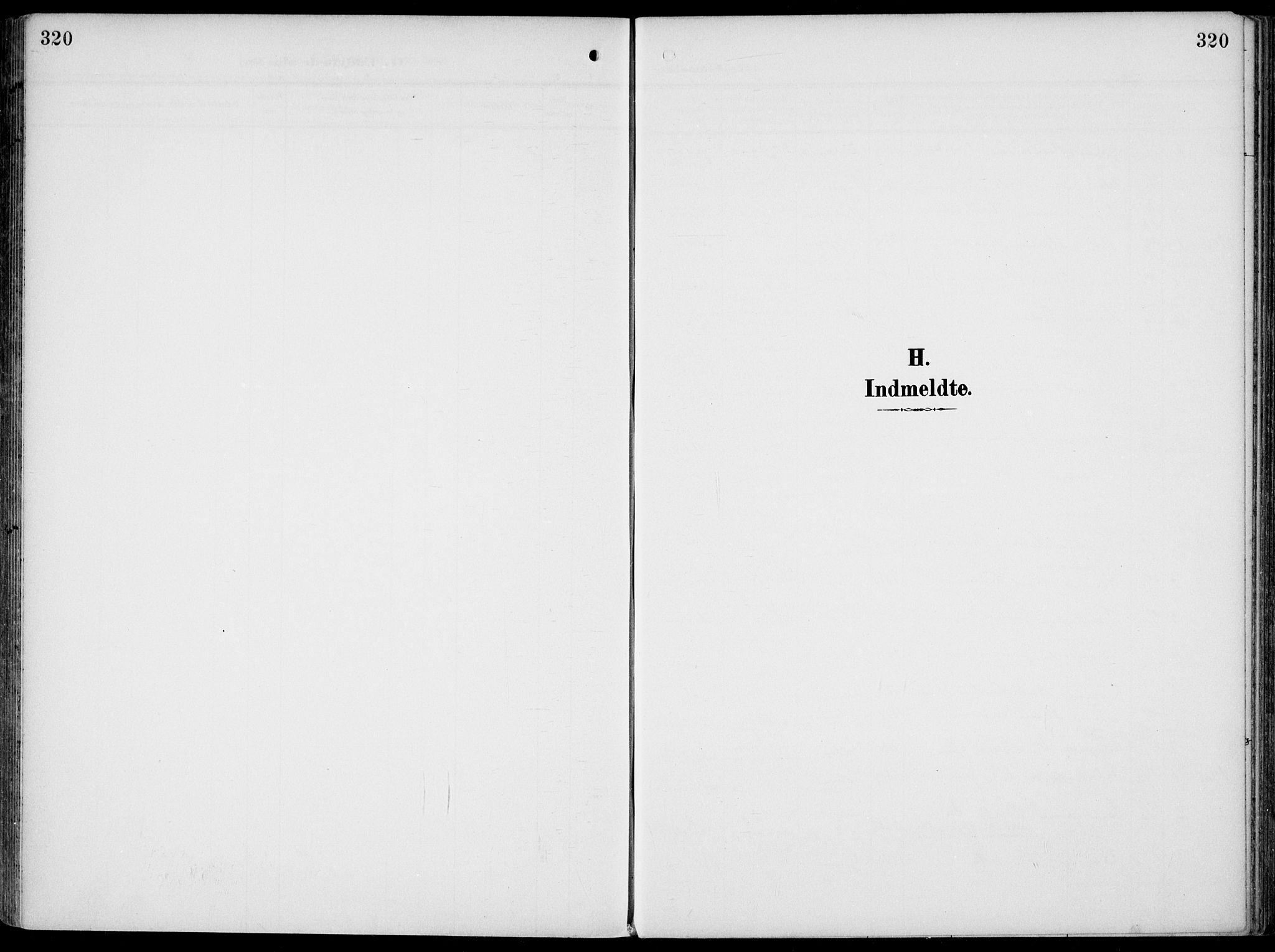 SAKO, Gjerpen kirkebøker, F/Fa/L0012: Ministerialbok nr. 12, 1905-1913, s. 320