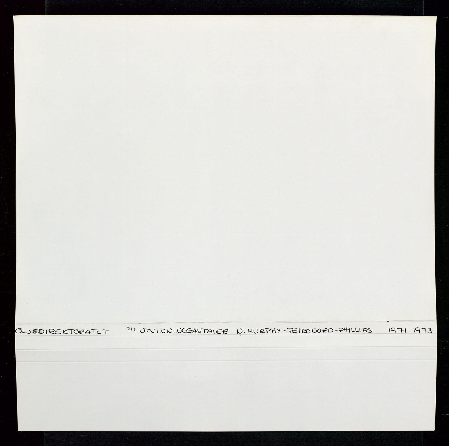 SAST, Industridepartementet, Oljekontoret, Da/L0004: Arkivnøkkel 711 - 712 Utvinningstillatelser, 1970-1971, s. 248