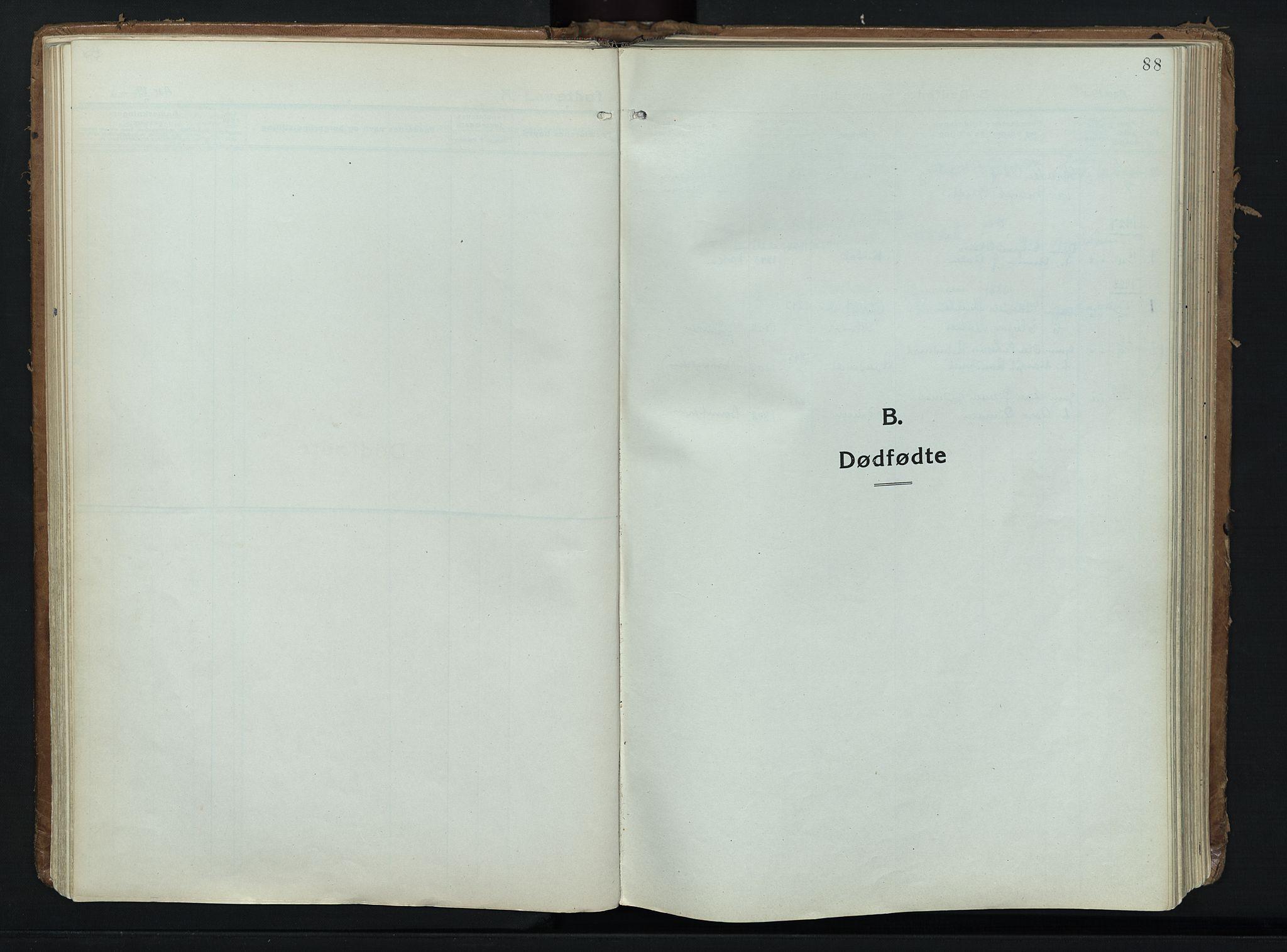 SAH, Alvdal prestekontor, Ministerialbok nr. 6, 1920-1937, s. 88