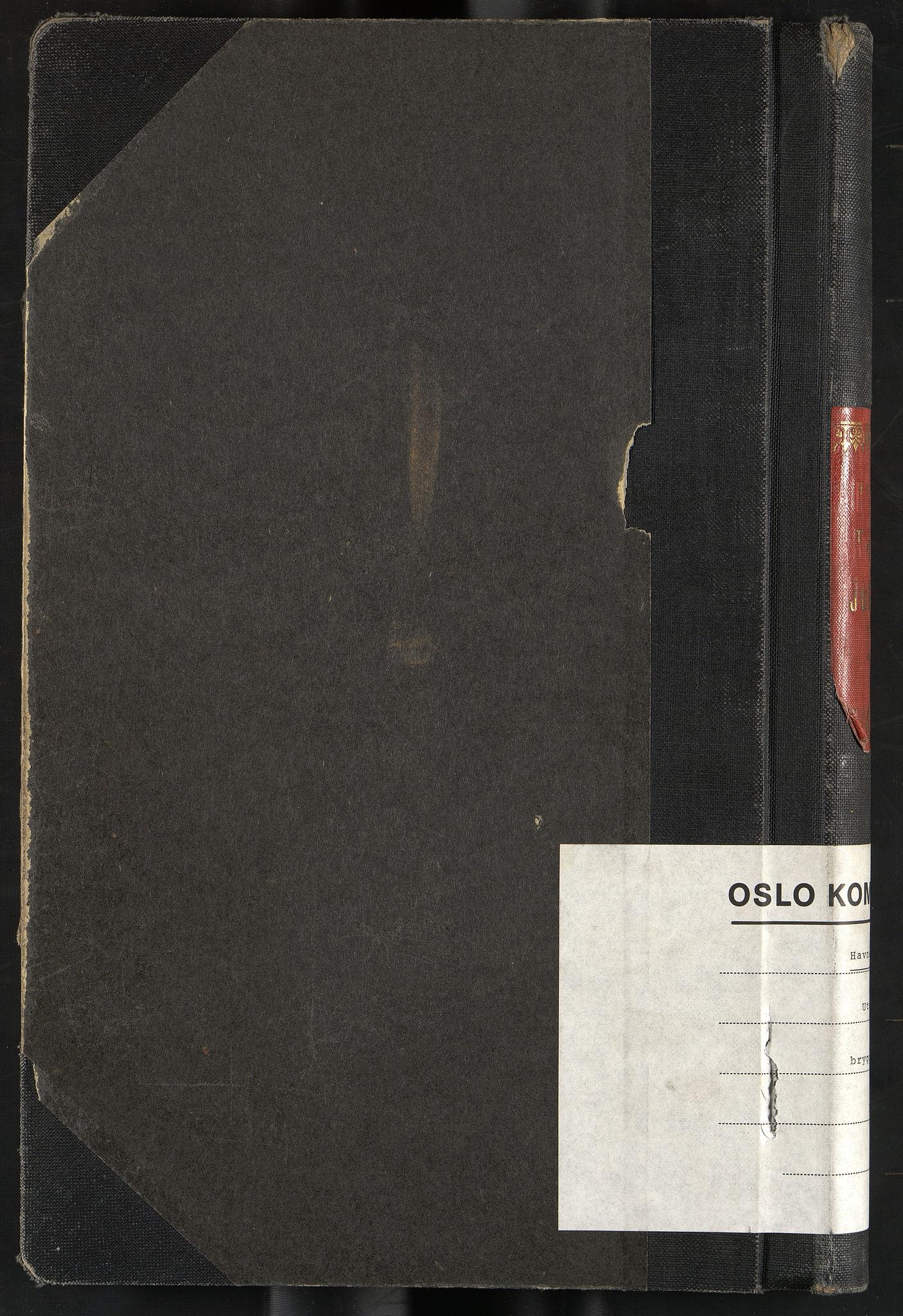 OBA, Oslo havnevesen, Fa/Fac/L0057: Utenriks bryggejournal, 1943