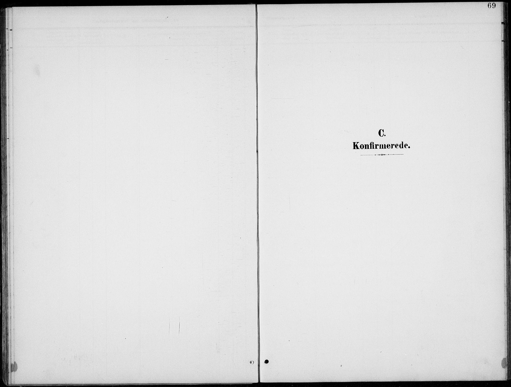 SAH, Lom prestekontor, L/L0006: Klokkerbok nr. 6, 1901-1939, s. 69