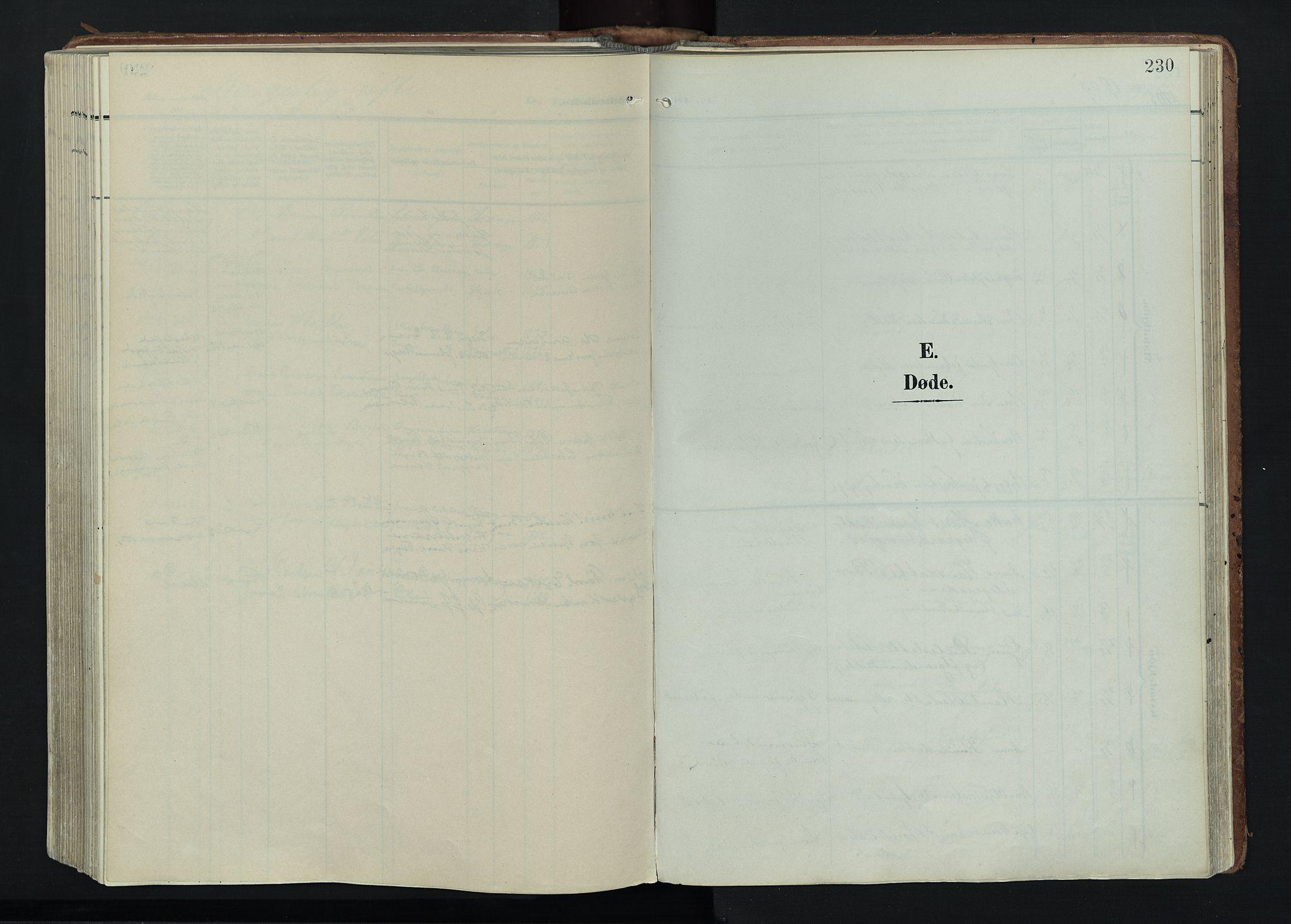 SAH, Vågå prestekontor, Ministerialbok nr. 11, 1905-1924, s. 230