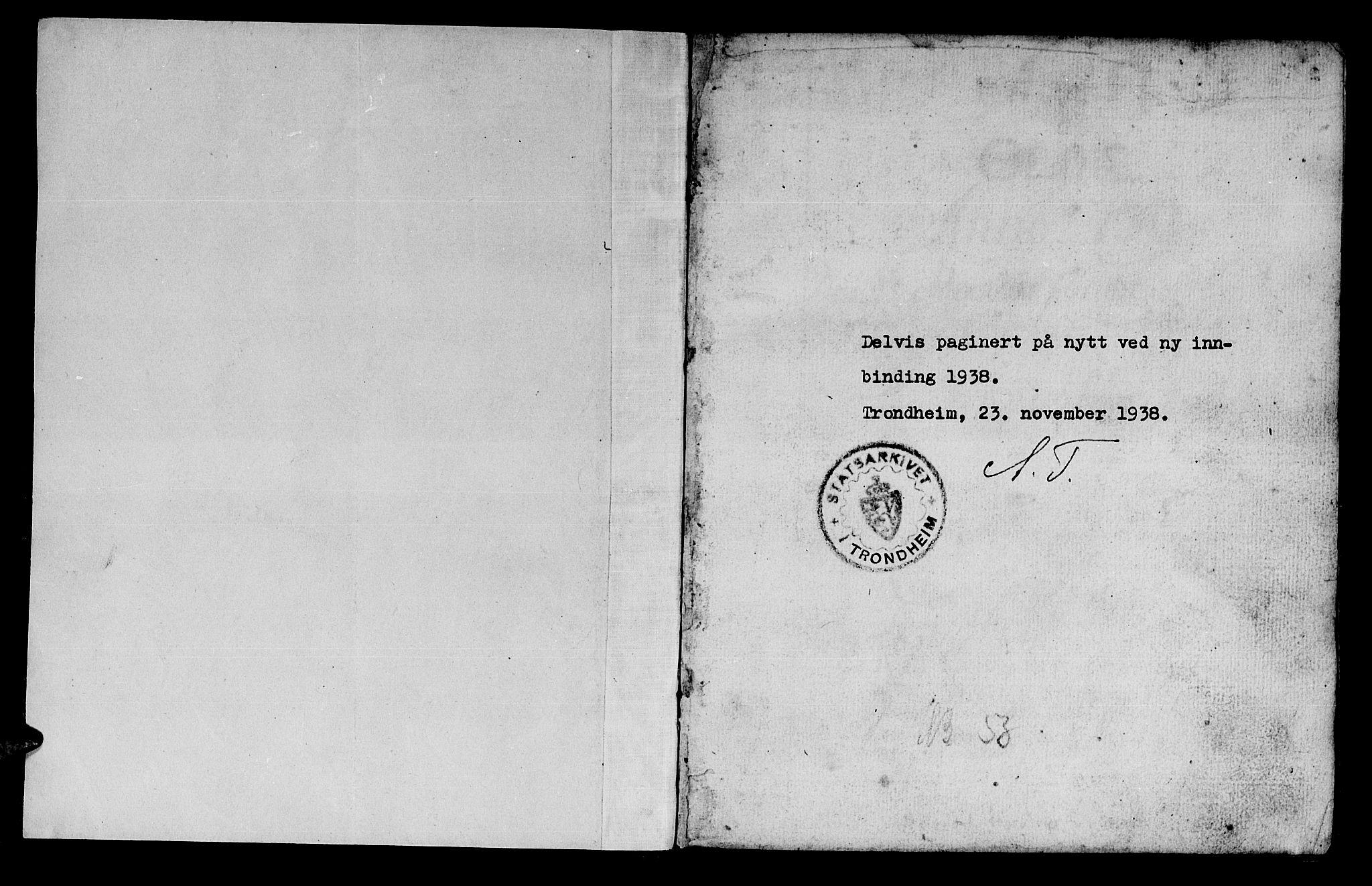 SAT, Ministerialprotokoller, klokkerbøker og fødselsregistre - Sør-Trøndelag, 659/L0731: Ministerialbok nr. 659A01, 1709-1731