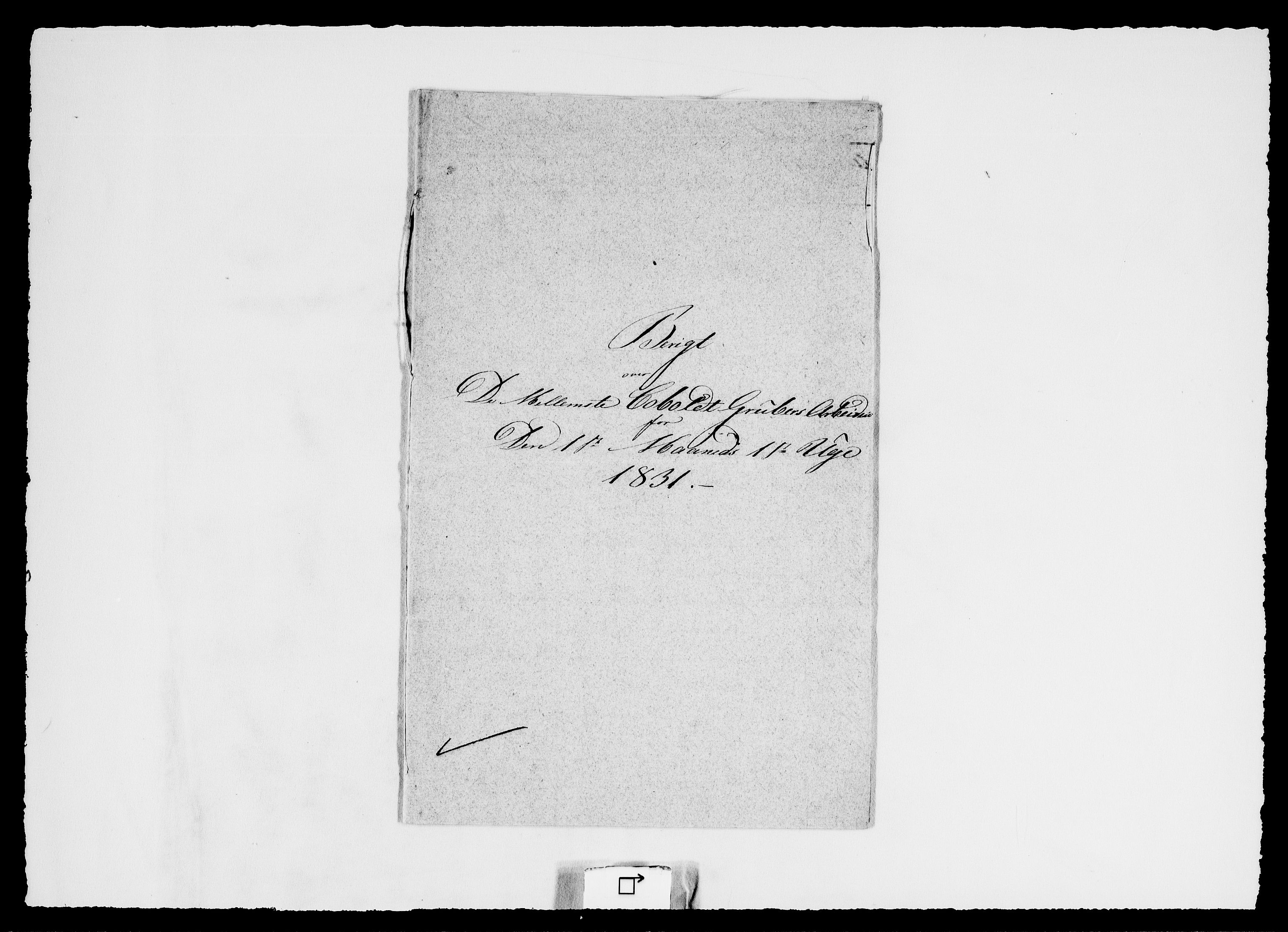 RA, Modums Blaafarveværk, G/Ge/L0337, 1831, s. 2