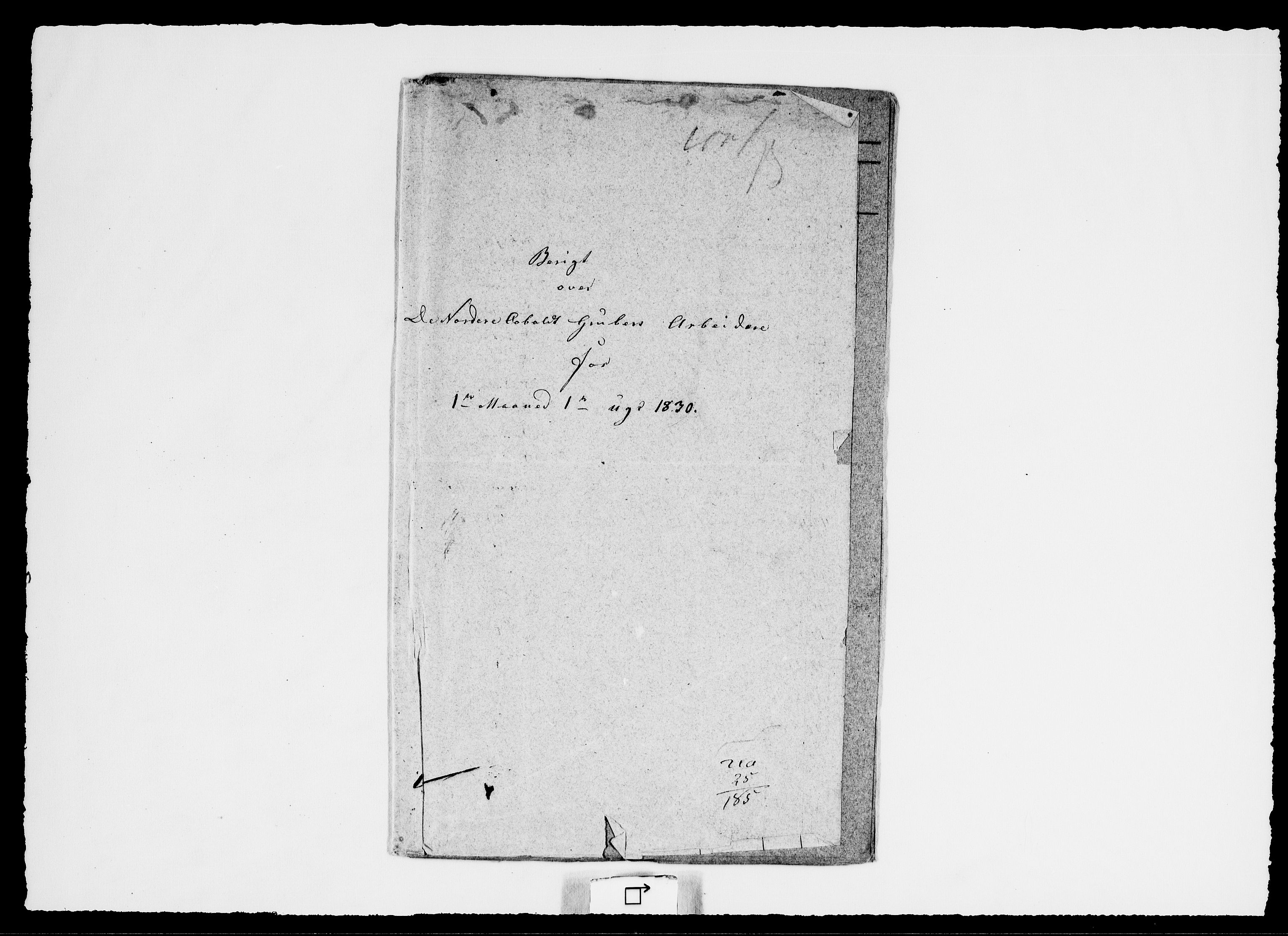 RA, Modums Blaafarveværk, G/Ge/L0335, 1830, s. 2
