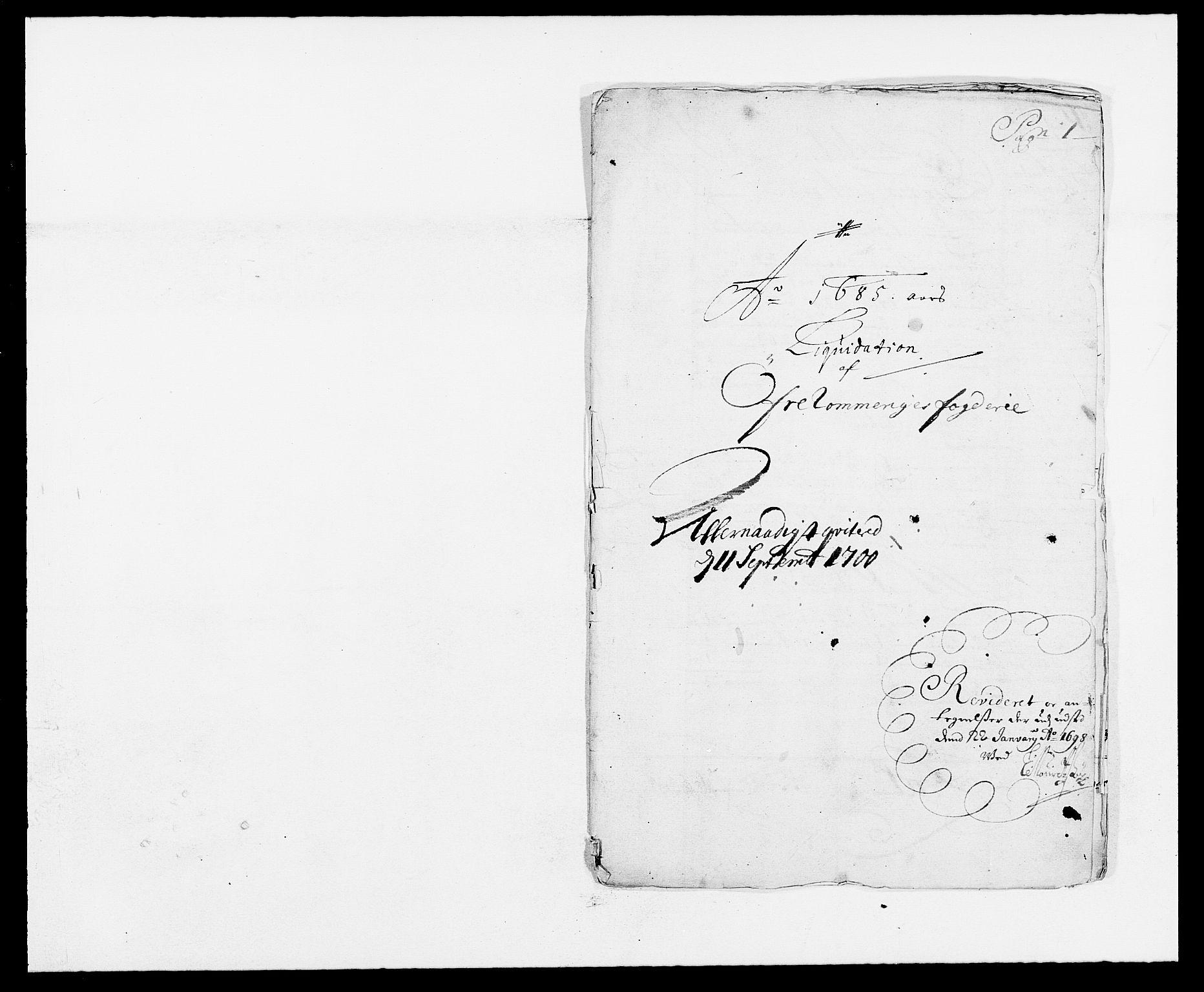 RA, Rentekammeret inntil 1814, Reviderte regnskaper, Fogderegnskap, R12/L0699: Fogderegnskap Øvre Romerike, 1685-1686, s. 84
