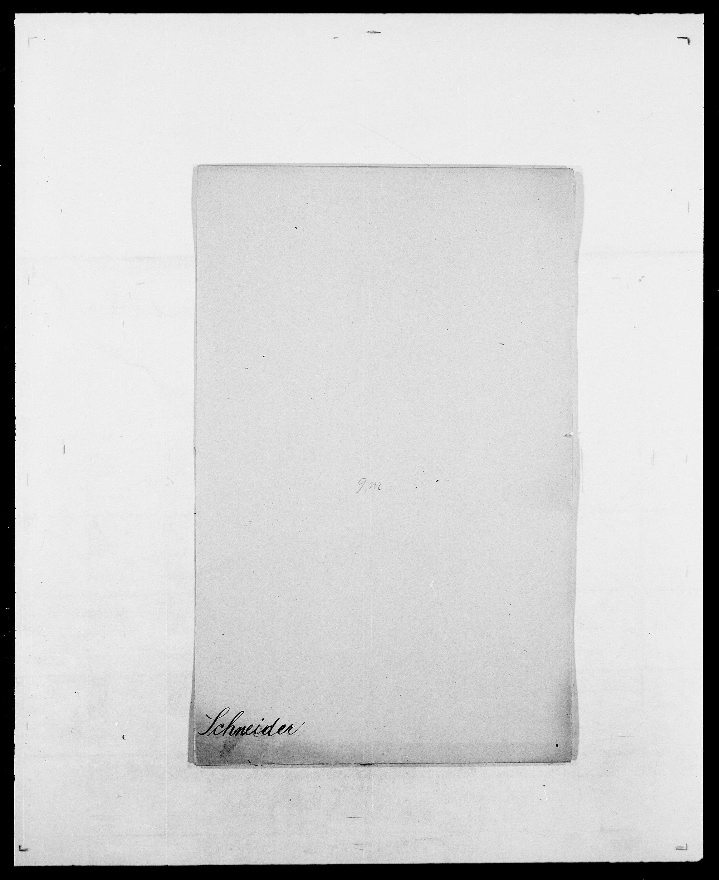 SAO, Delgobe, Charles Antoine - samling, D/Da/L0035: Schnabel - sjetman, s. 6
