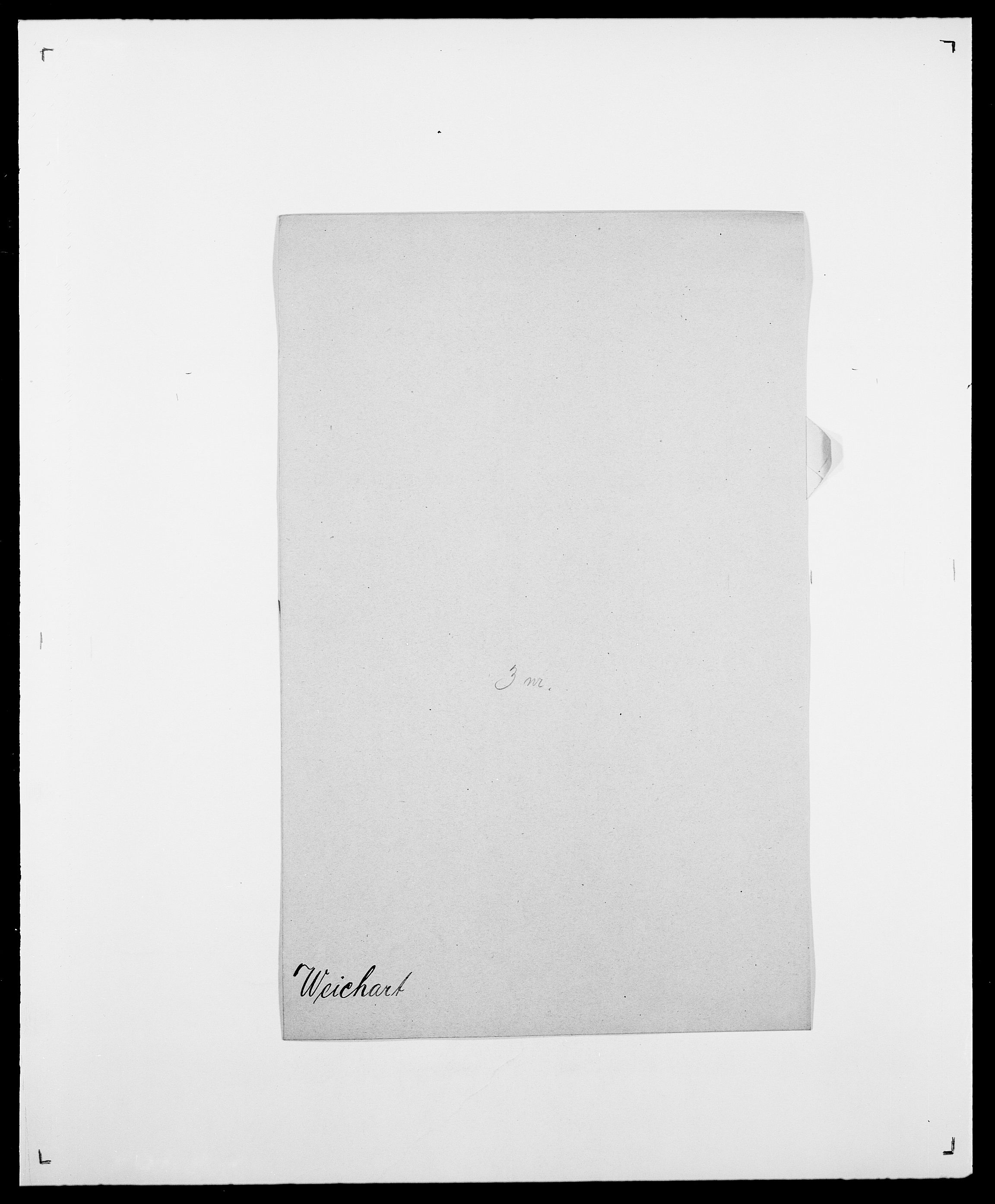 SAO, Delgobe, Charles Antoine - samling, D/Da/L0040: Usgaard - Velund, s. 537